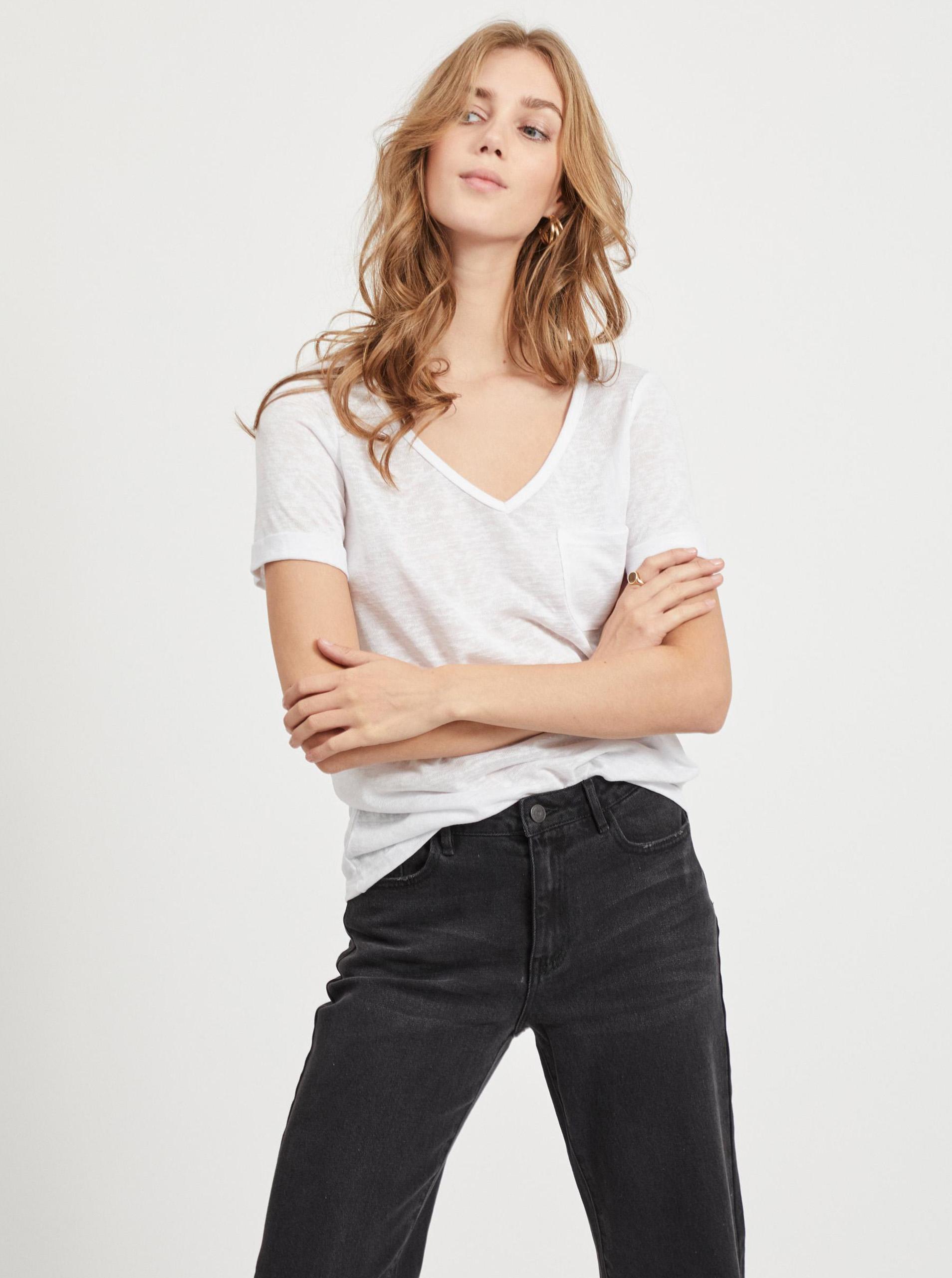 .OBJECT Maglietta donna bianco Tessi