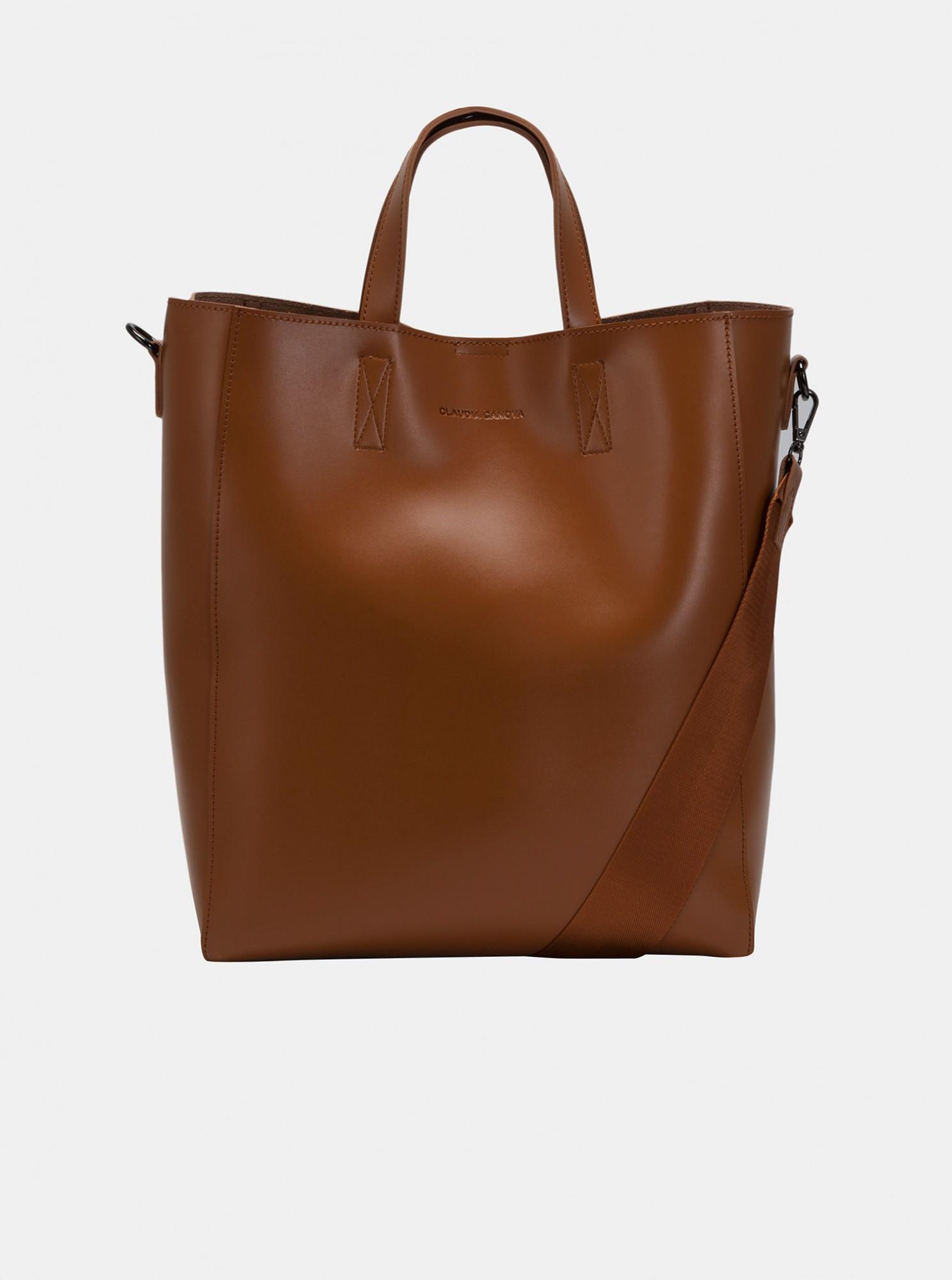 Claudia Canova marrone grande borsetta