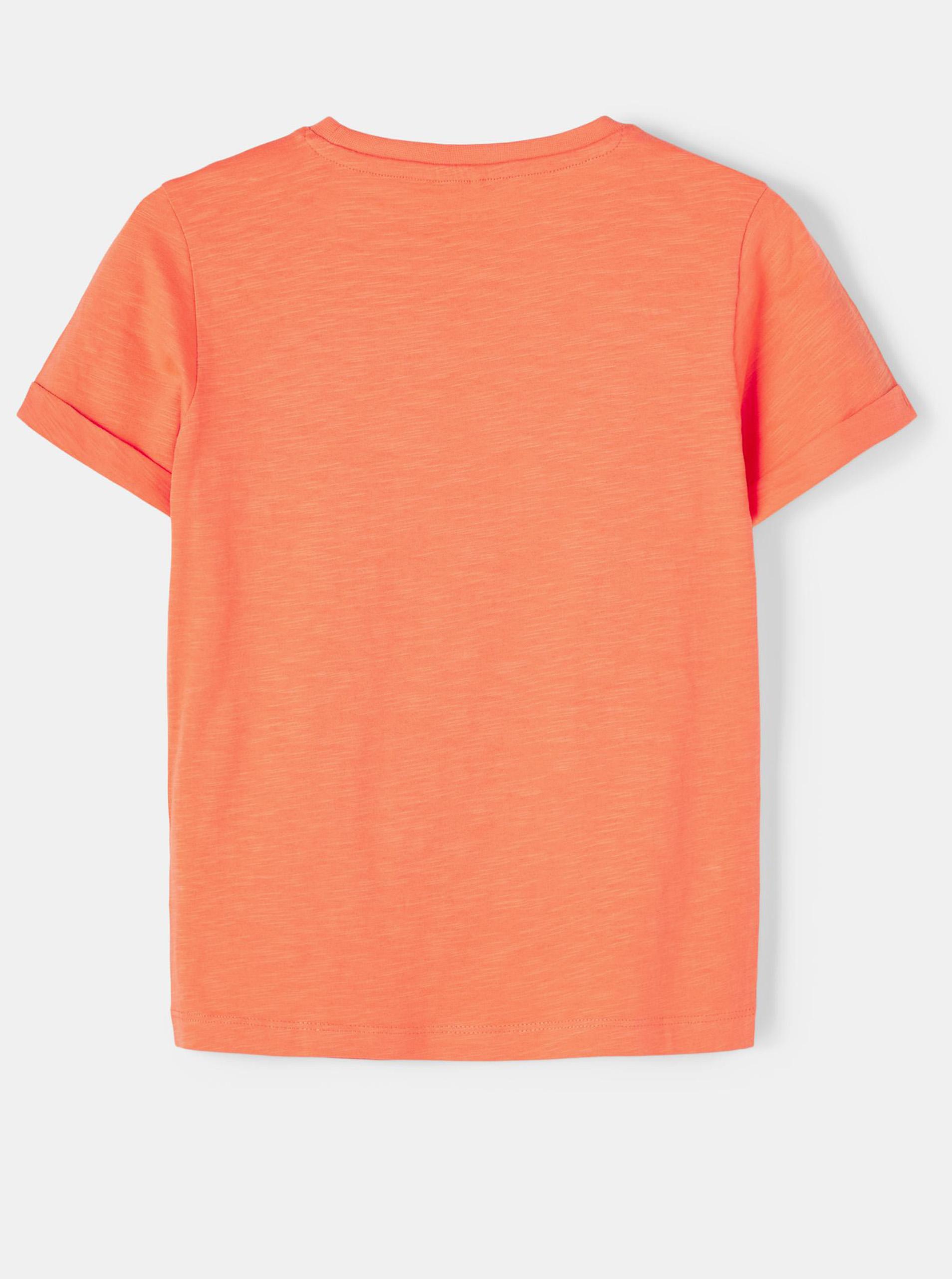 name it Maglietta bambino arancione Vincent