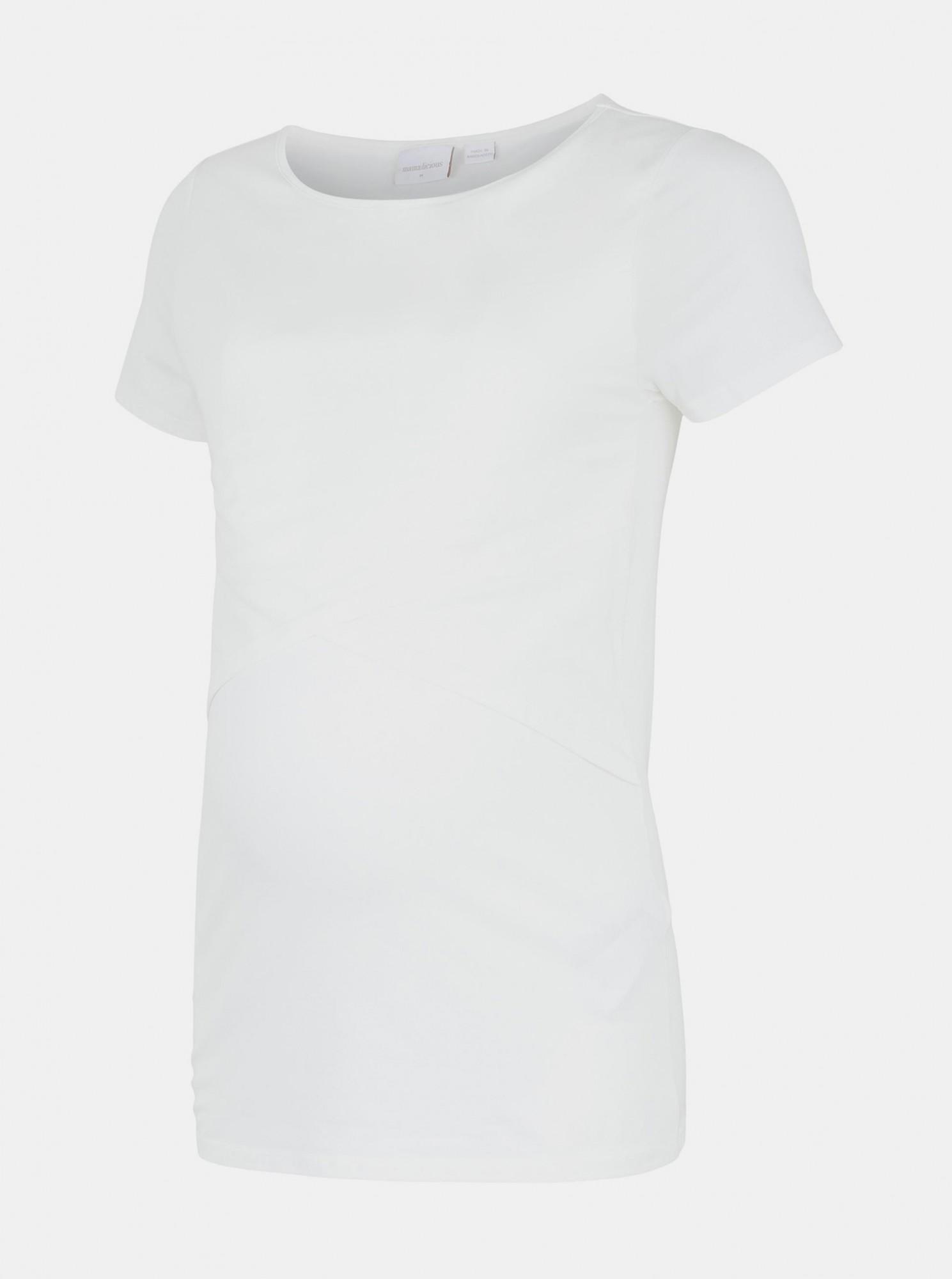 Mama.licious Maglietta donna bianco Sia