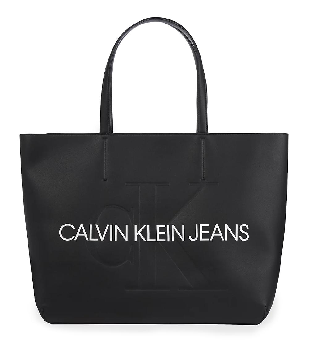 Calvin Klein nero grande borsetta
