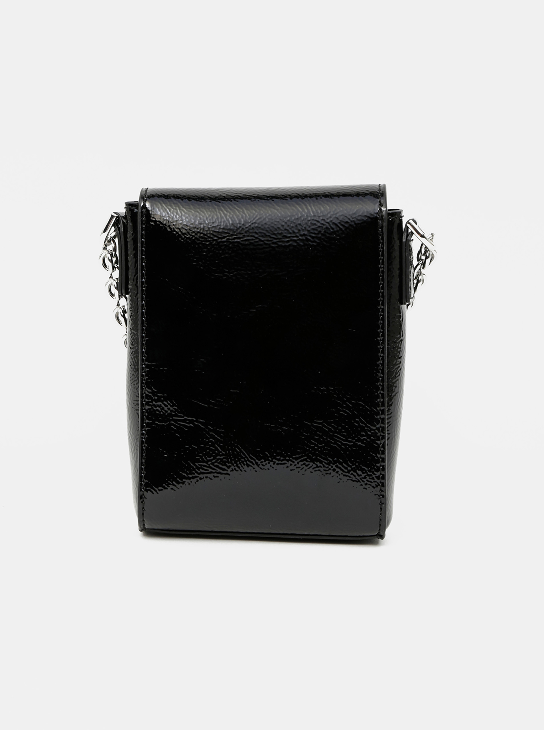 Calvin Klein nero crossbody piccola borsetta