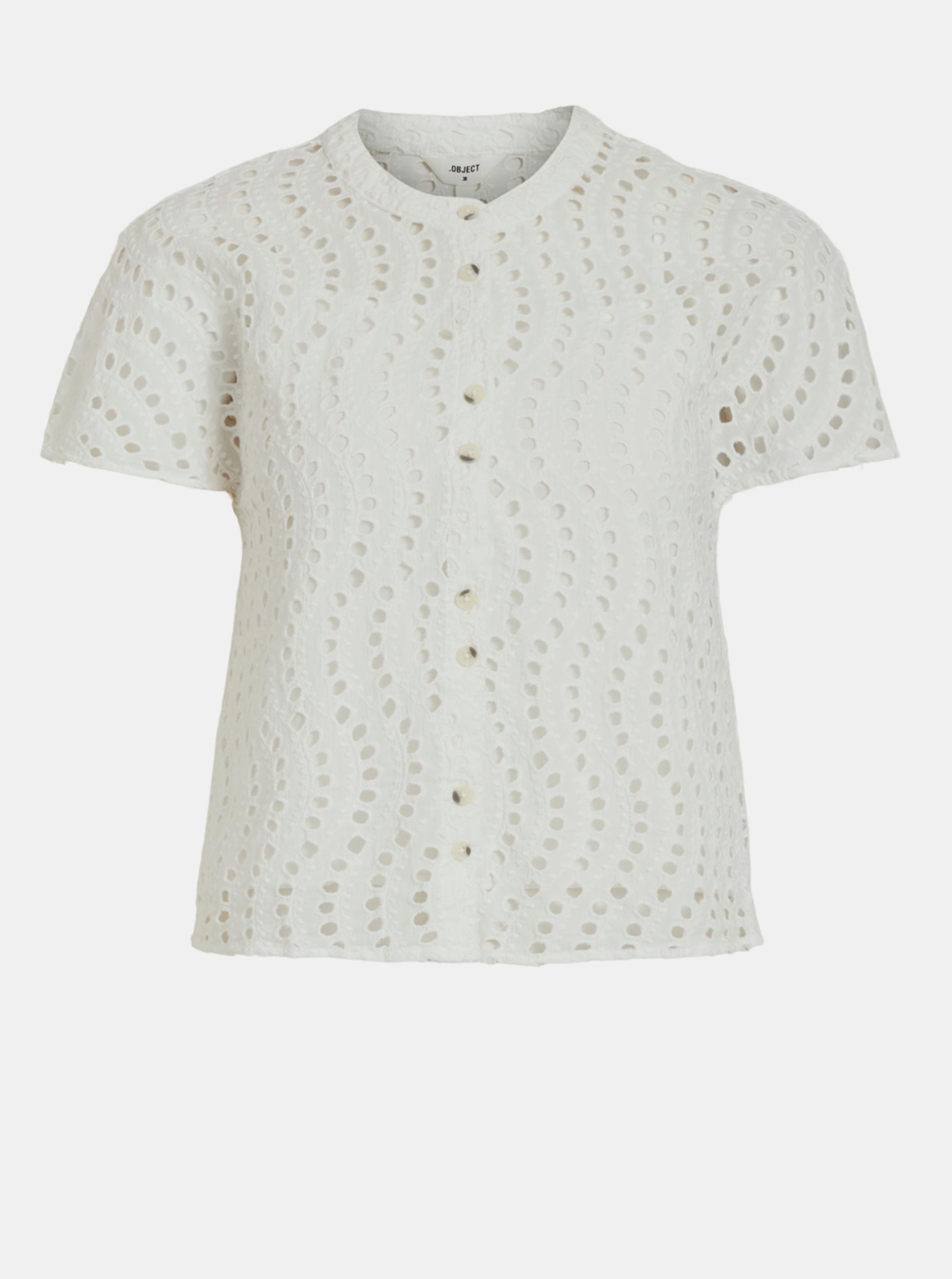 .OBJECT Blusa donna bianco -Targo