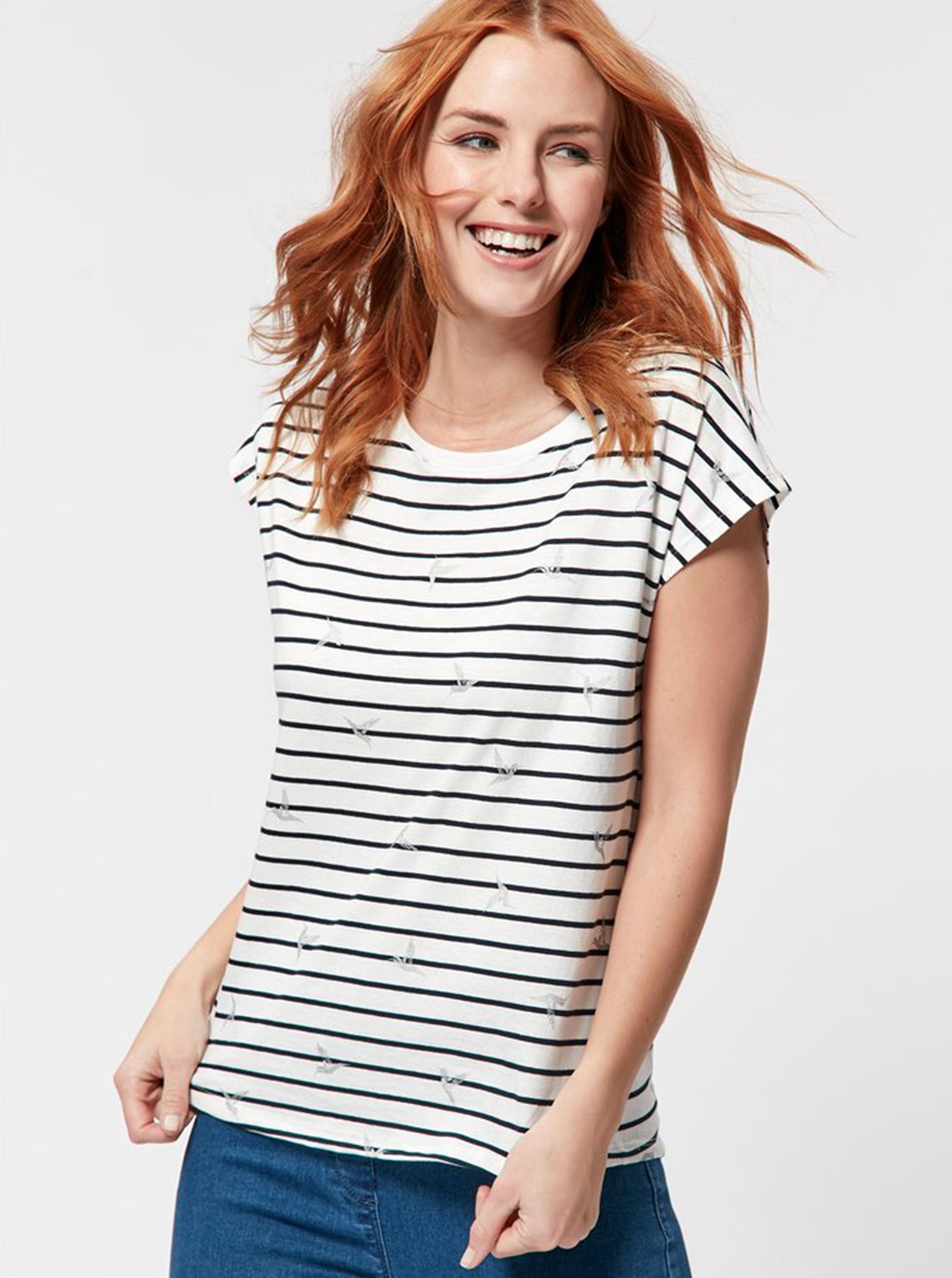 M&Co Maglietta donna bianco