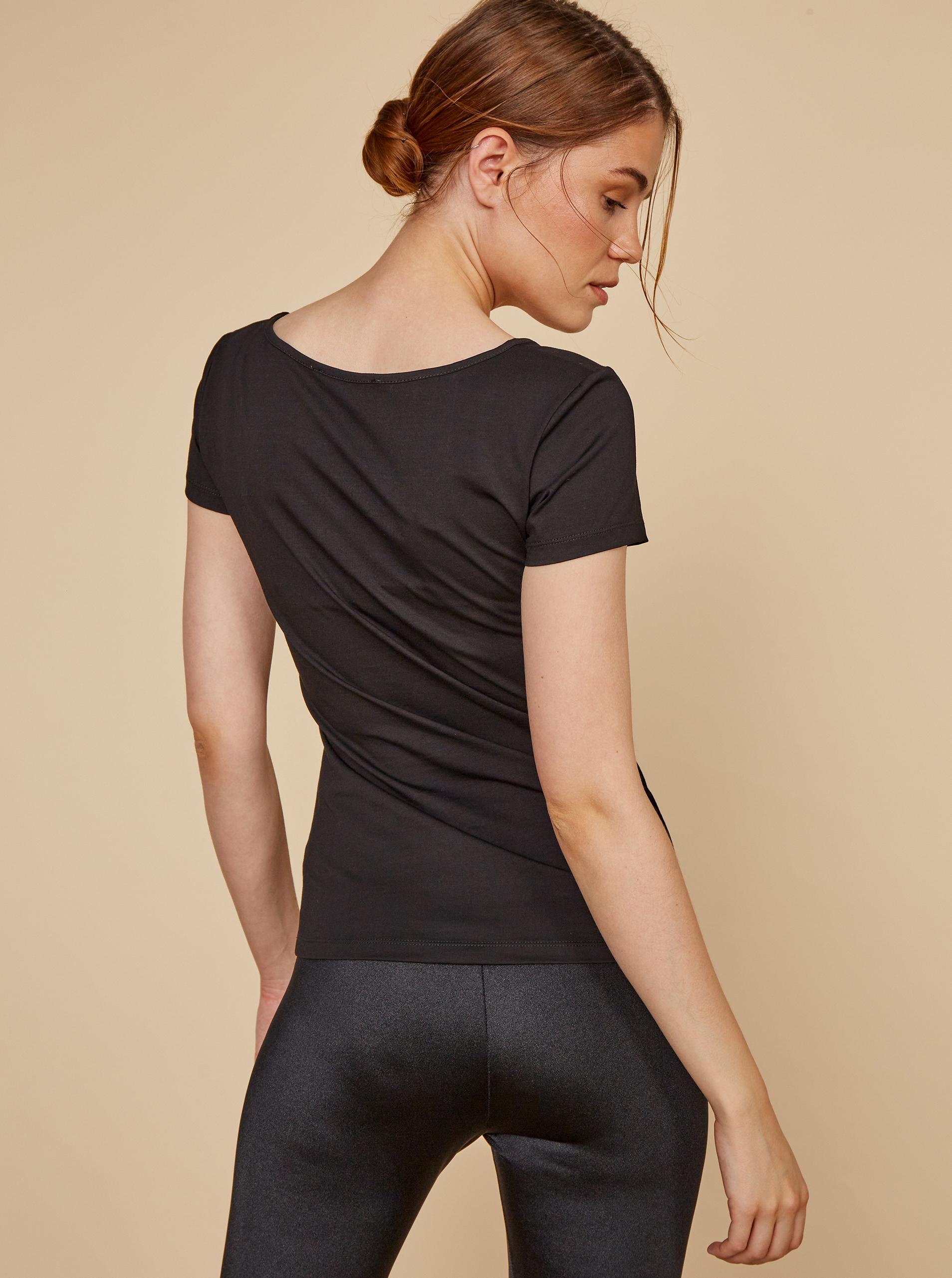 ZOOT Baseline Maglietta donna nero Nora