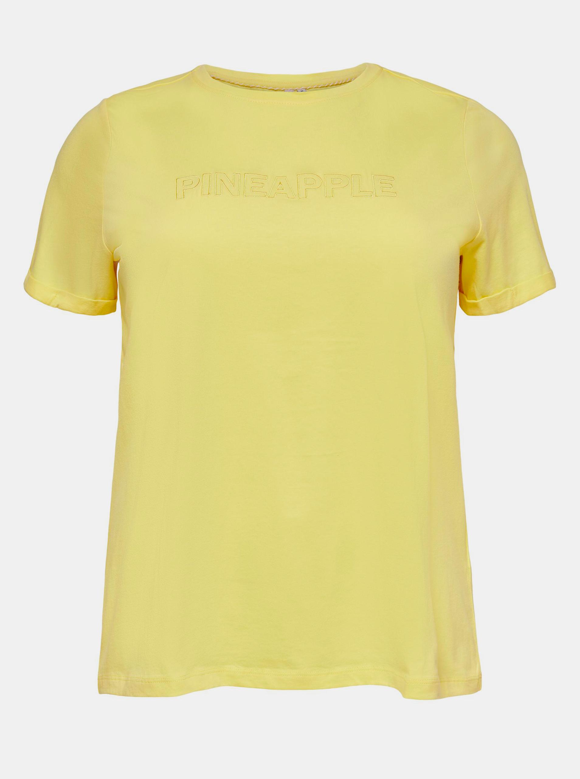 ONLY CARMAKOMA Maglietta donna giallo Mai