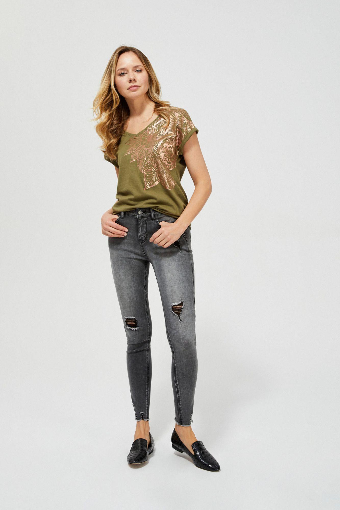 Moodo kaki maglietta