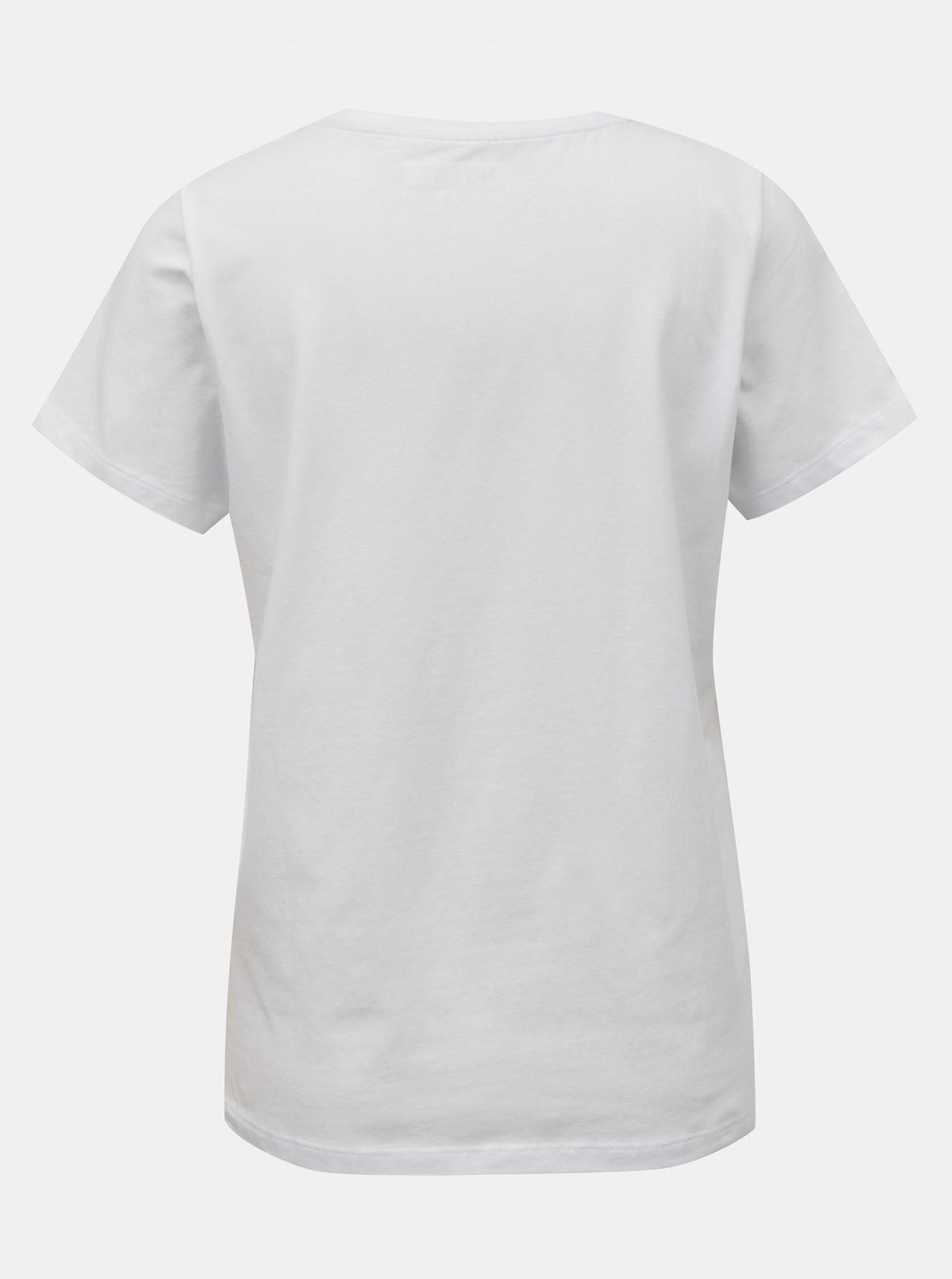 Noisy May Maglietta donna bianco Nate