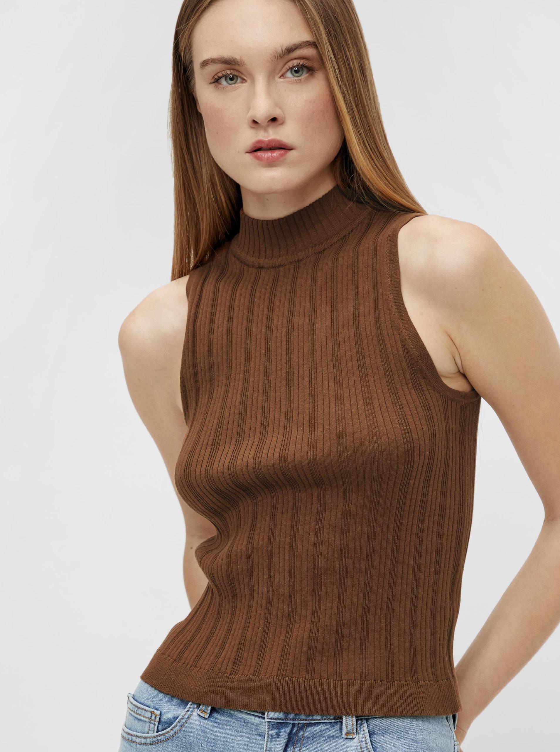 .OBJECT marrone top Amira
