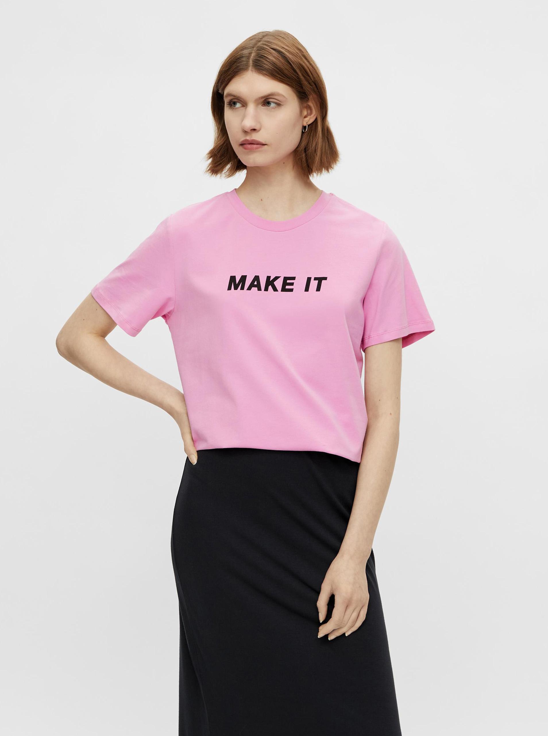 Pieces rosa maglietta Niru