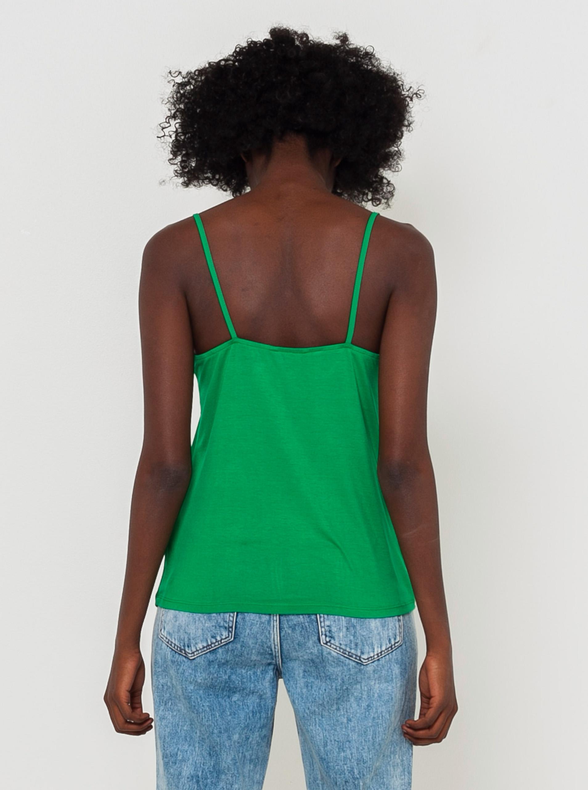 CAMAIEU Blusa donna verde