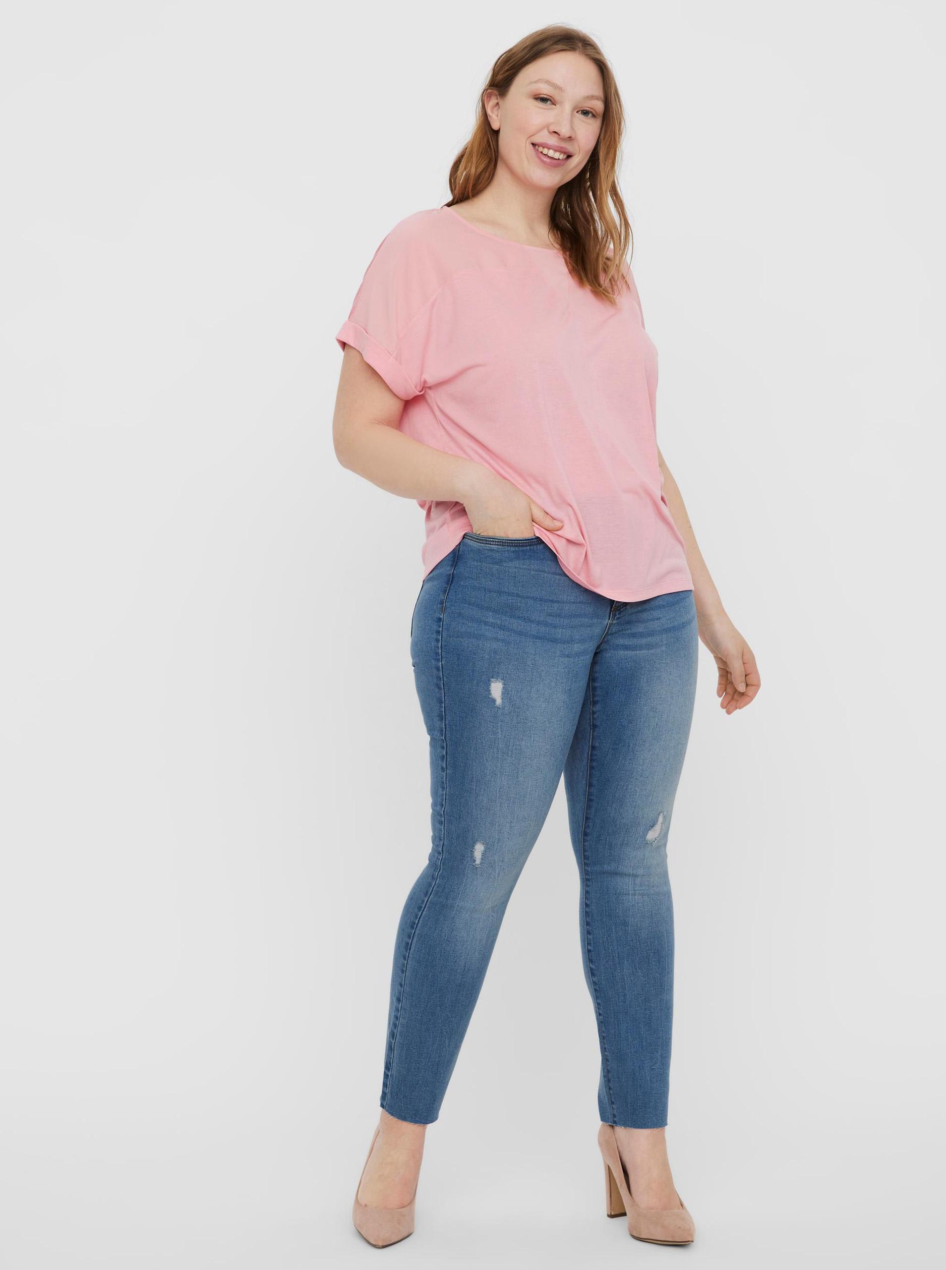 VERO MODA CURVE Blusa donna rosa Ellen