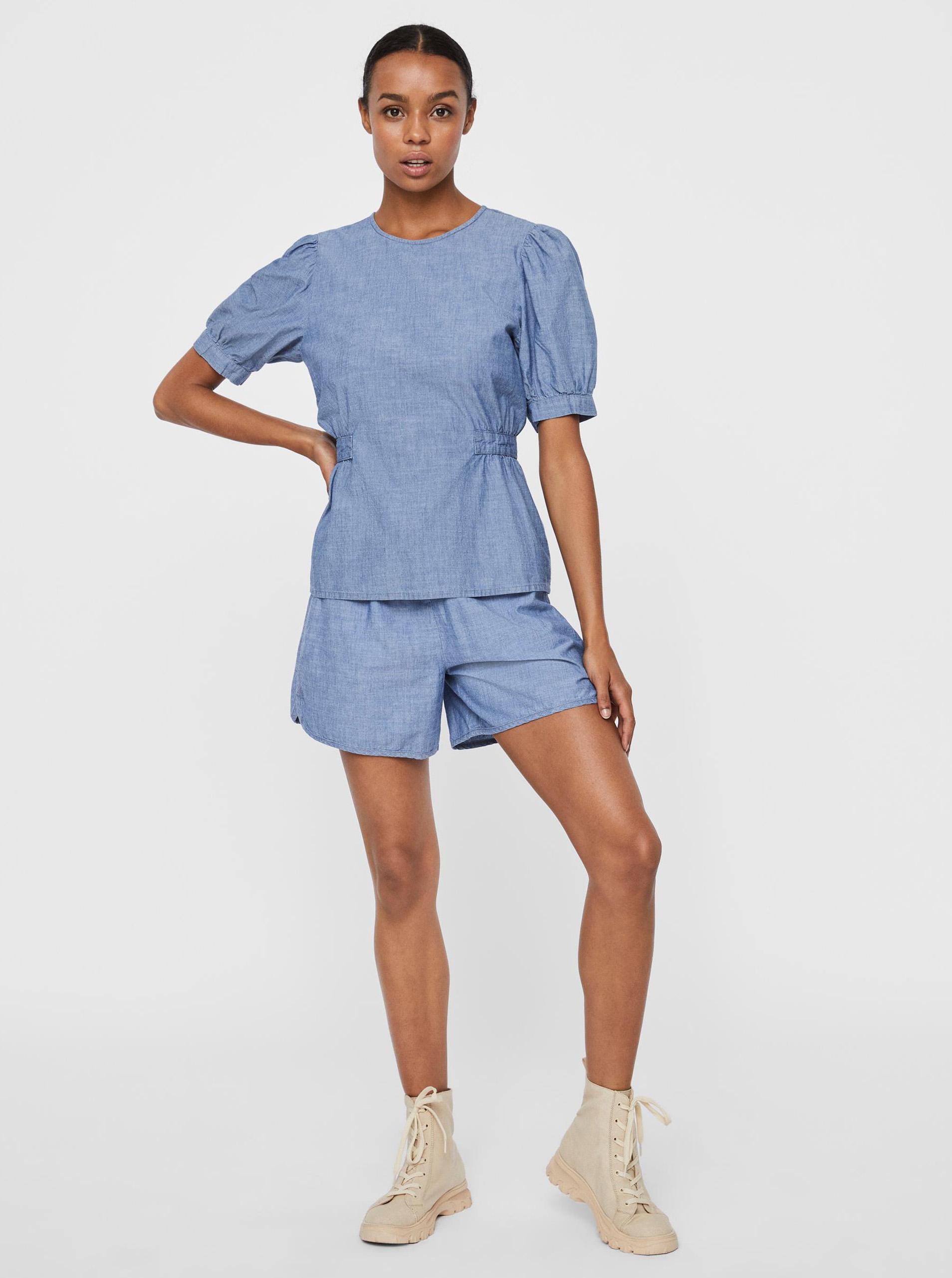 Vero Moda blu camicetta Akela