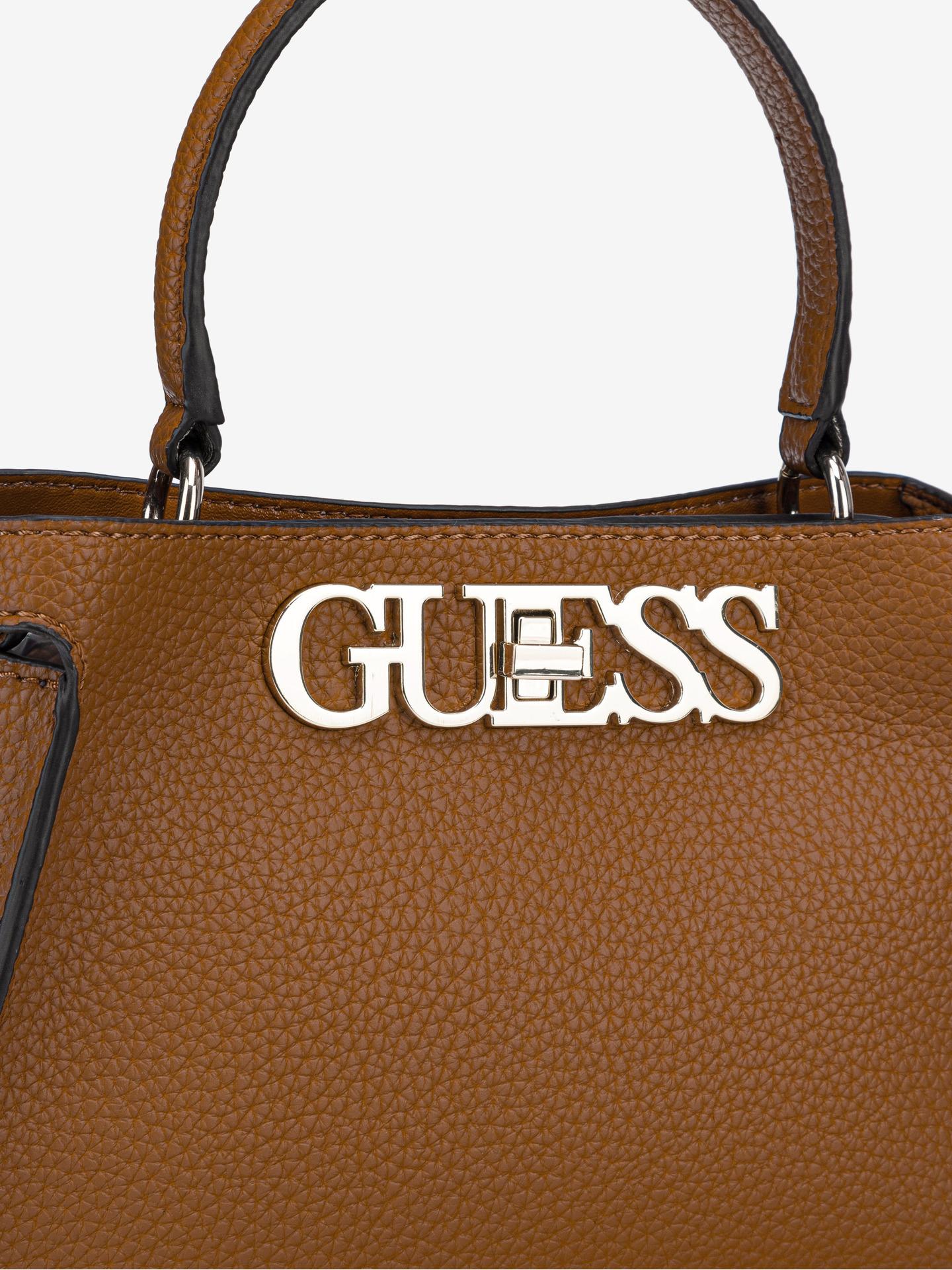 Guess marrone borsetta Uptown Chic Small
