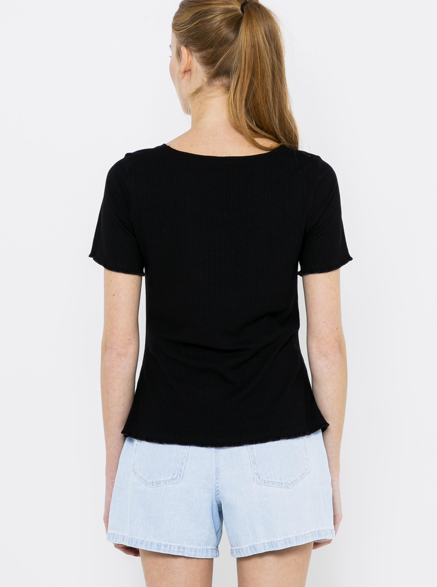 CAMAIEU Maglietta donna nero