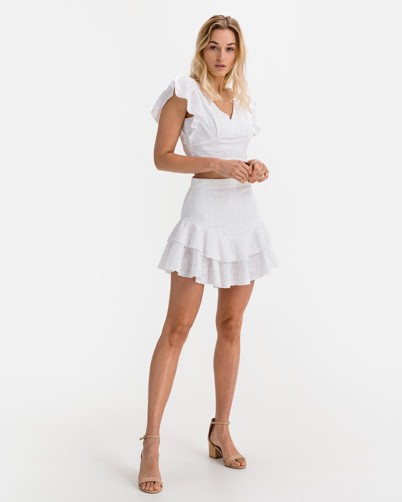 Guess Maglietta donna bianco