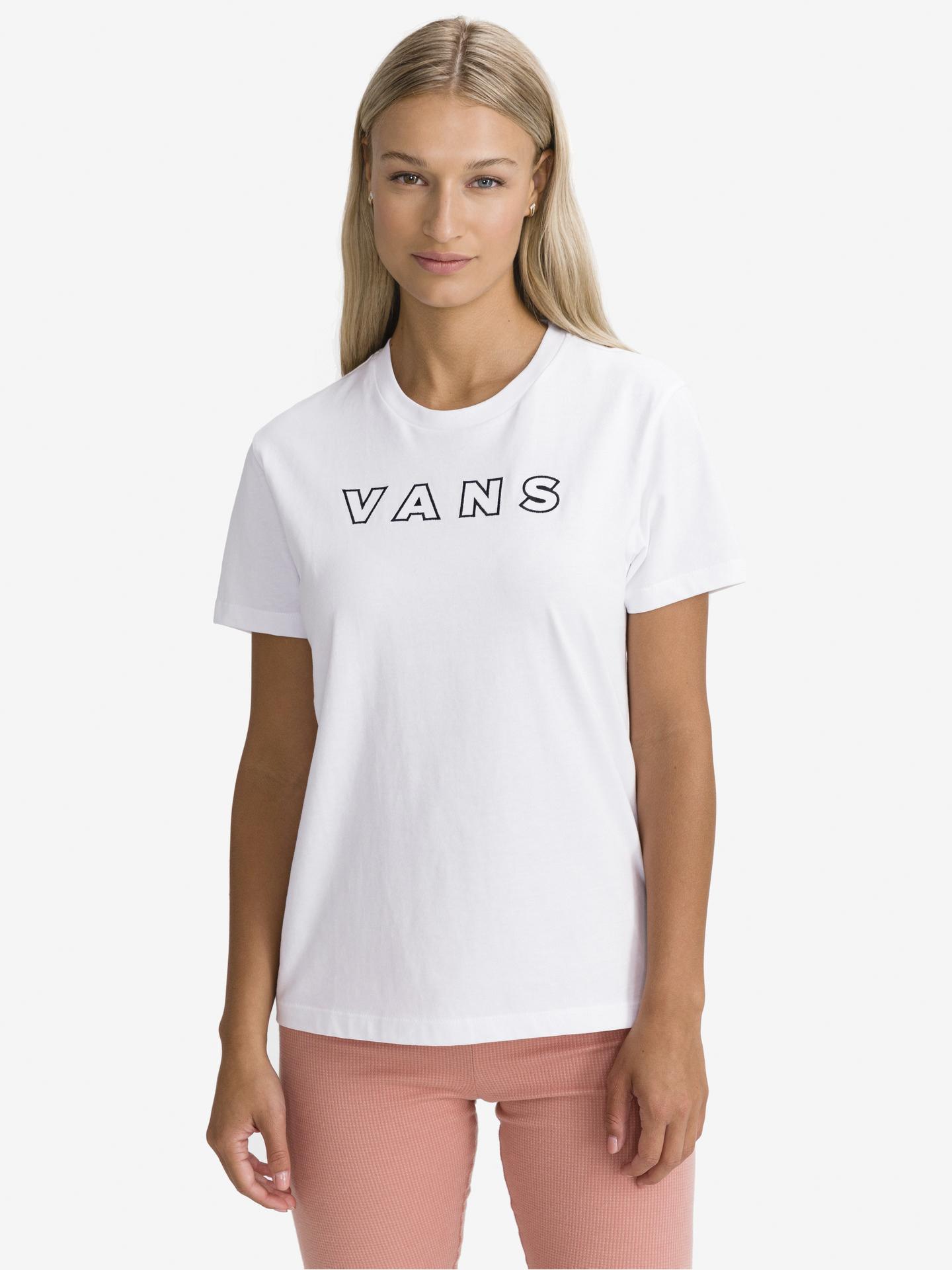 Vans bianco maglietta Well Suited
