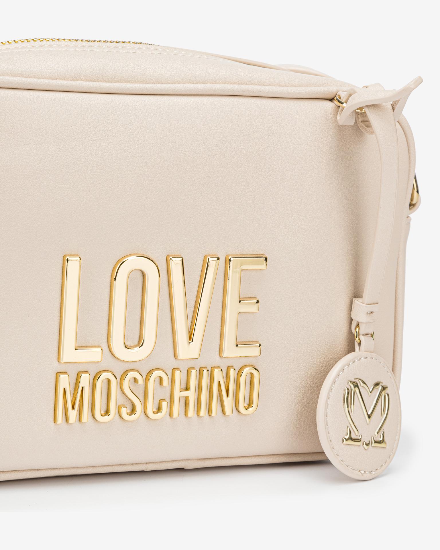Love Moschino bianco crossbody borsetta