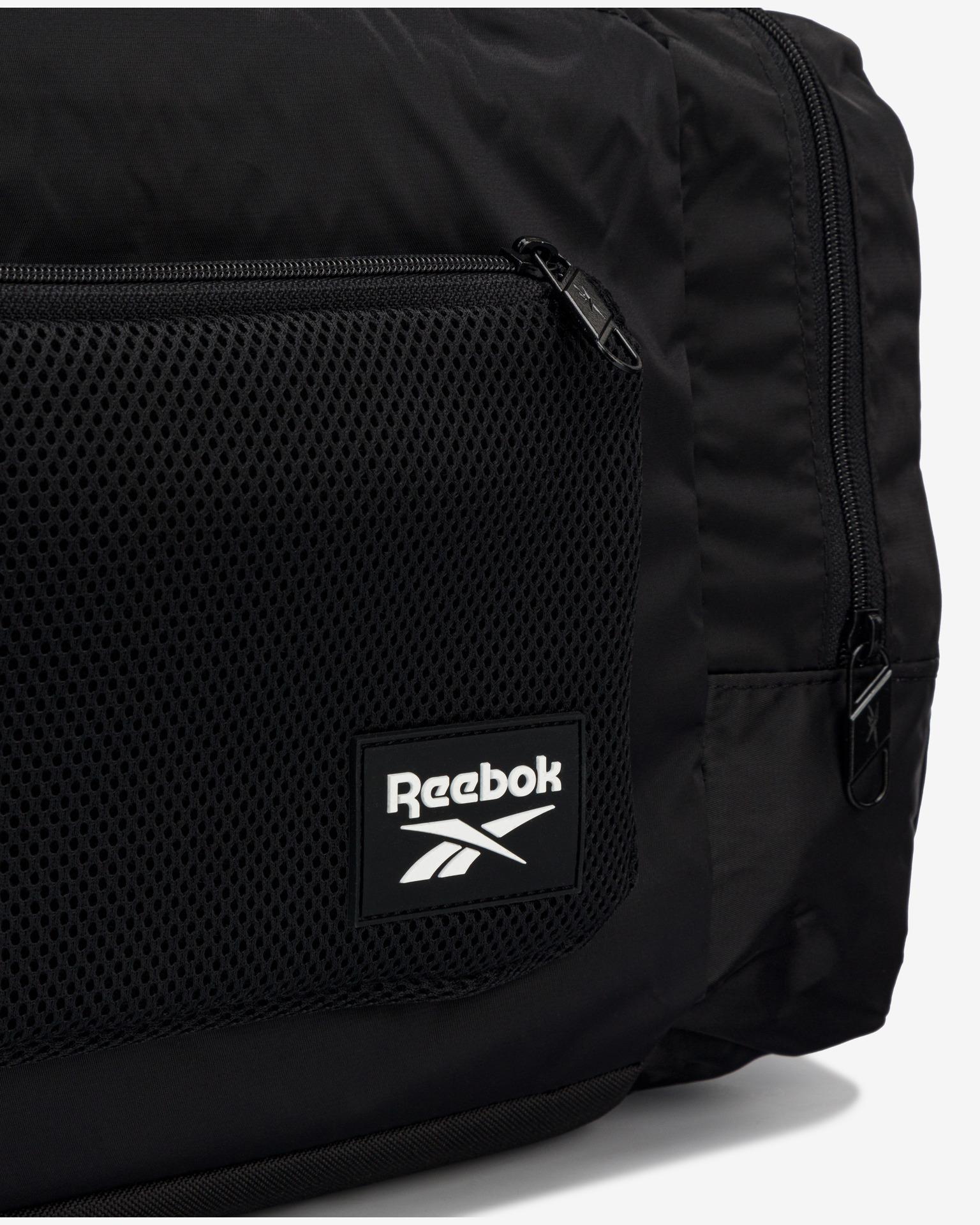 Borsa sportiva Tech Style Grip di Reebok nera
