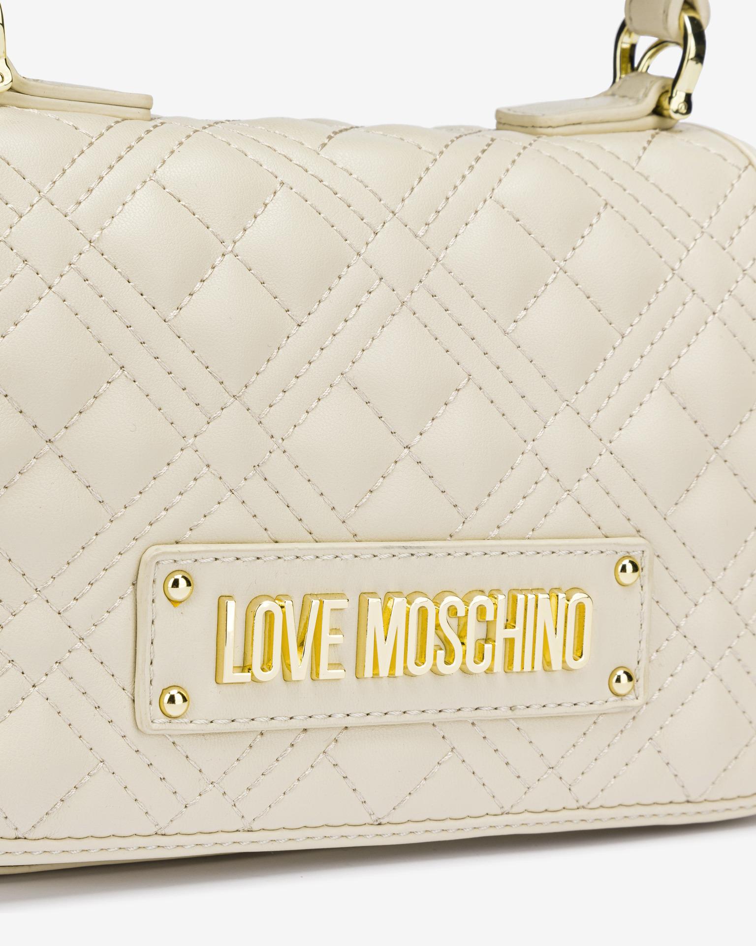 Love Moschino beige borsetta
