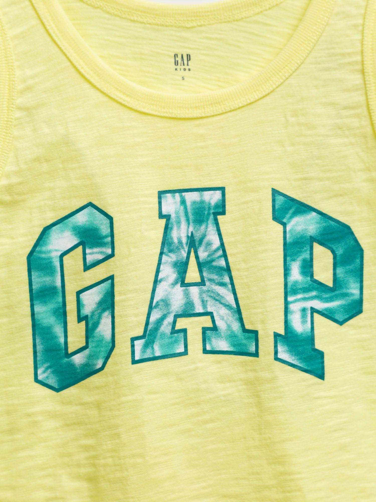 GAP Maglietta bambino giallo