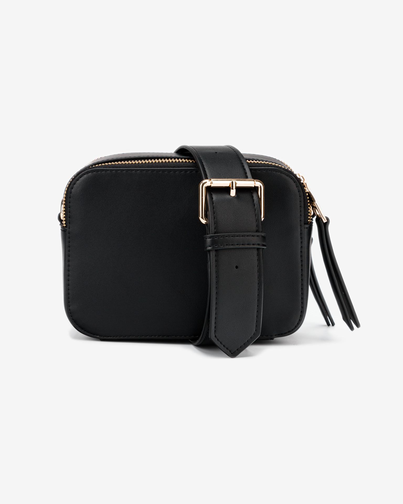 Versace Jeans Couture nero crossbody borsa