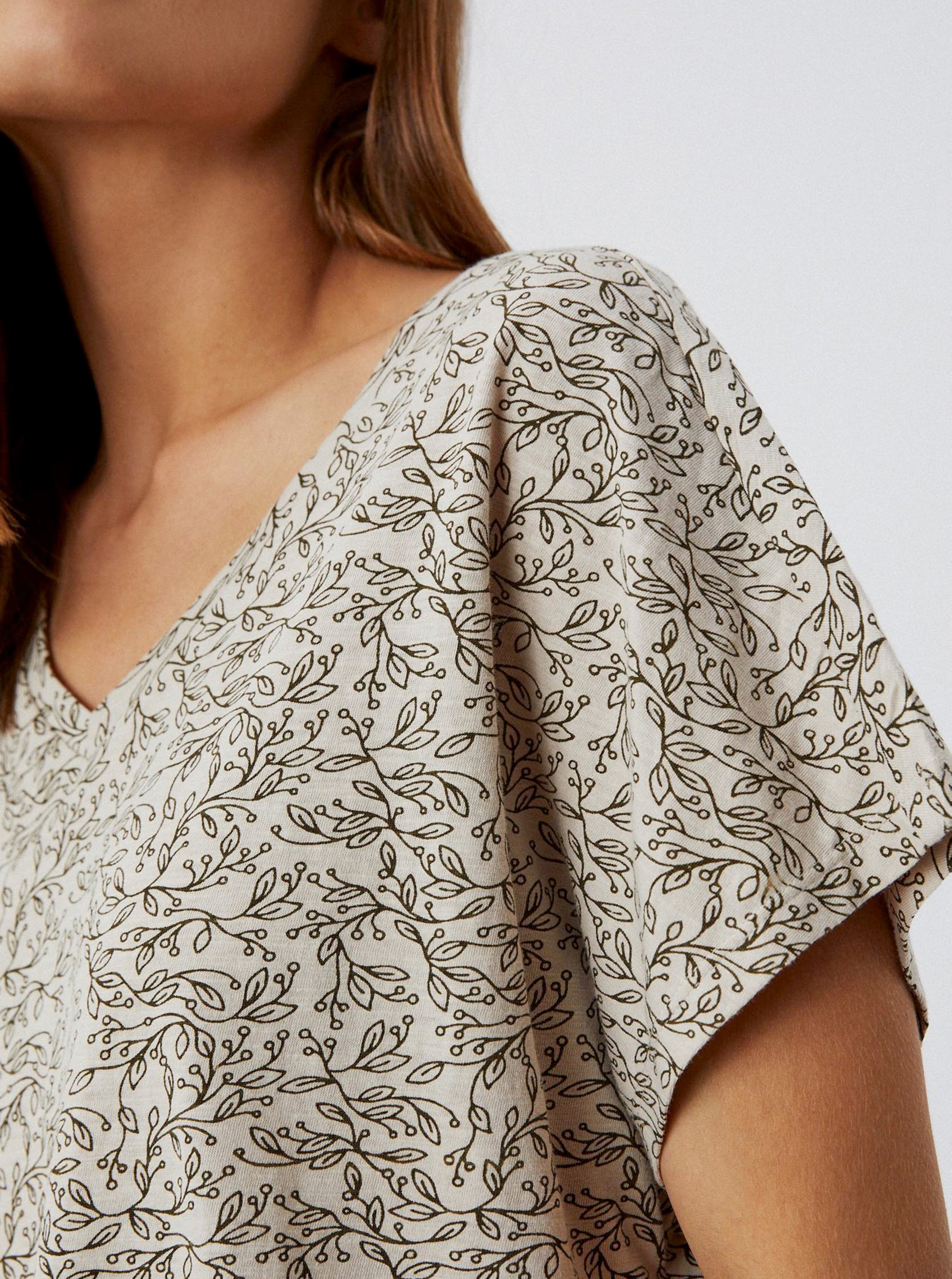 Moodo beige maglietta