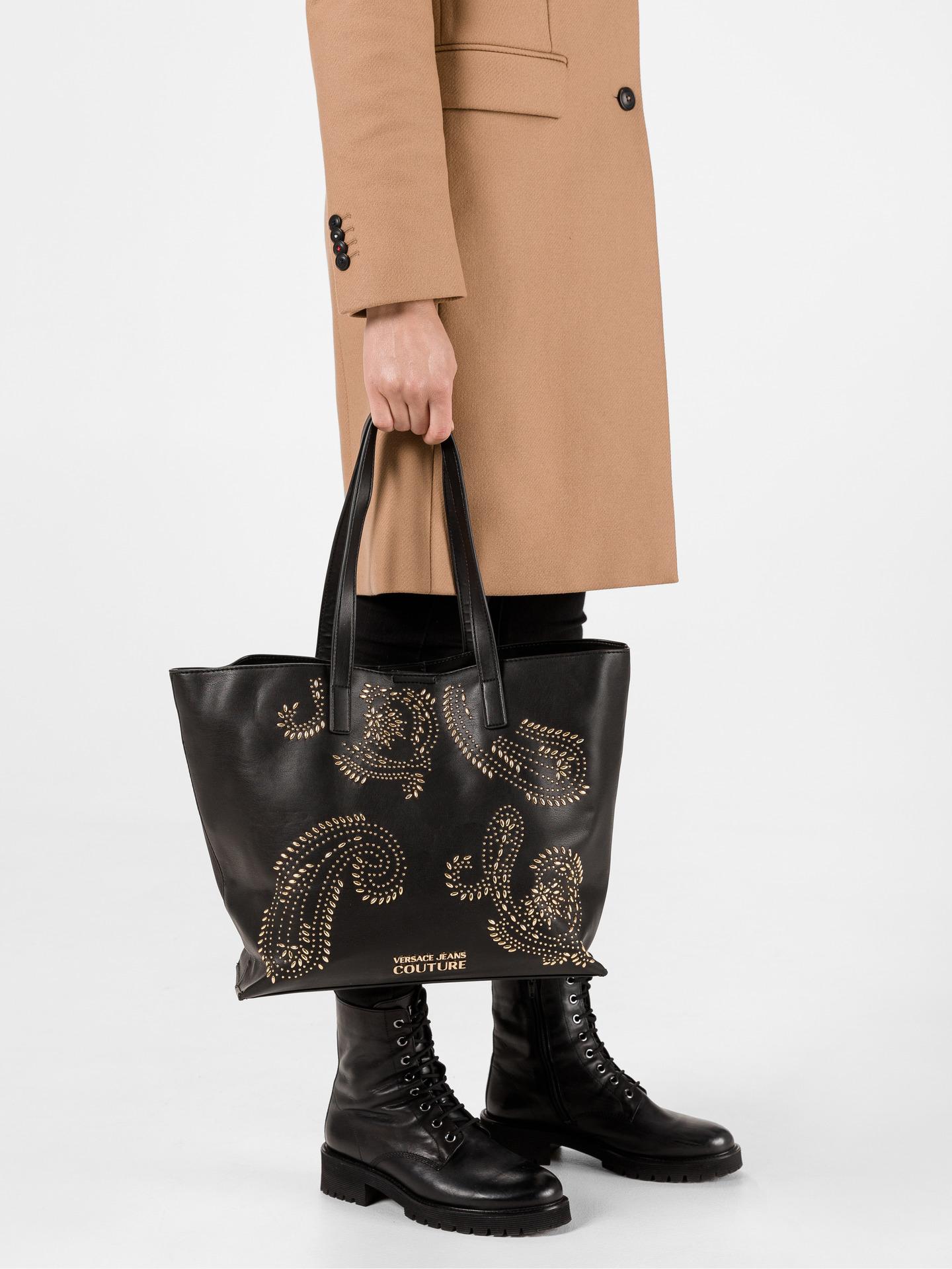 Versace Jeans Couture Borsetta donna nero