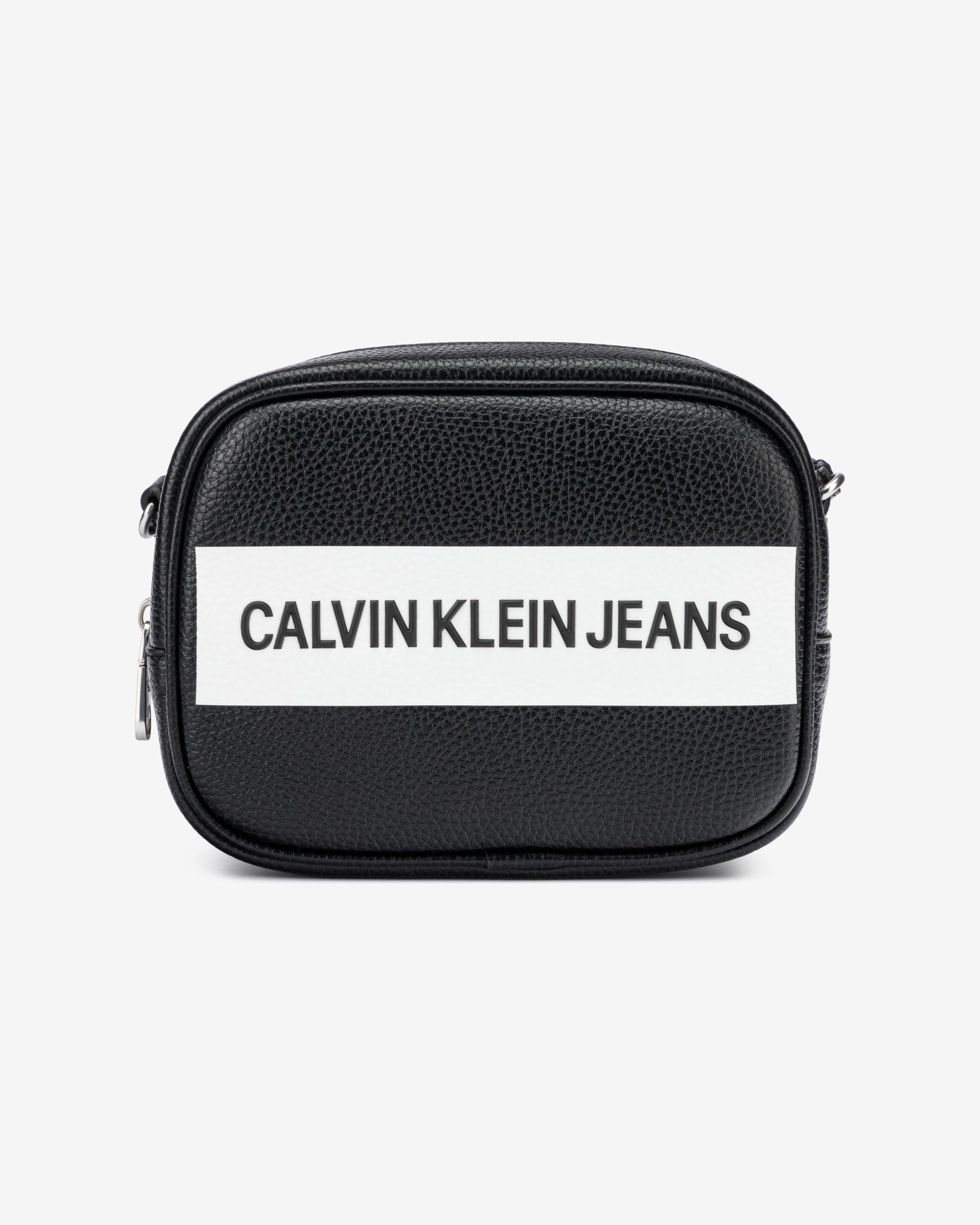 Calvin Klein nero crossbody borsetta Camera