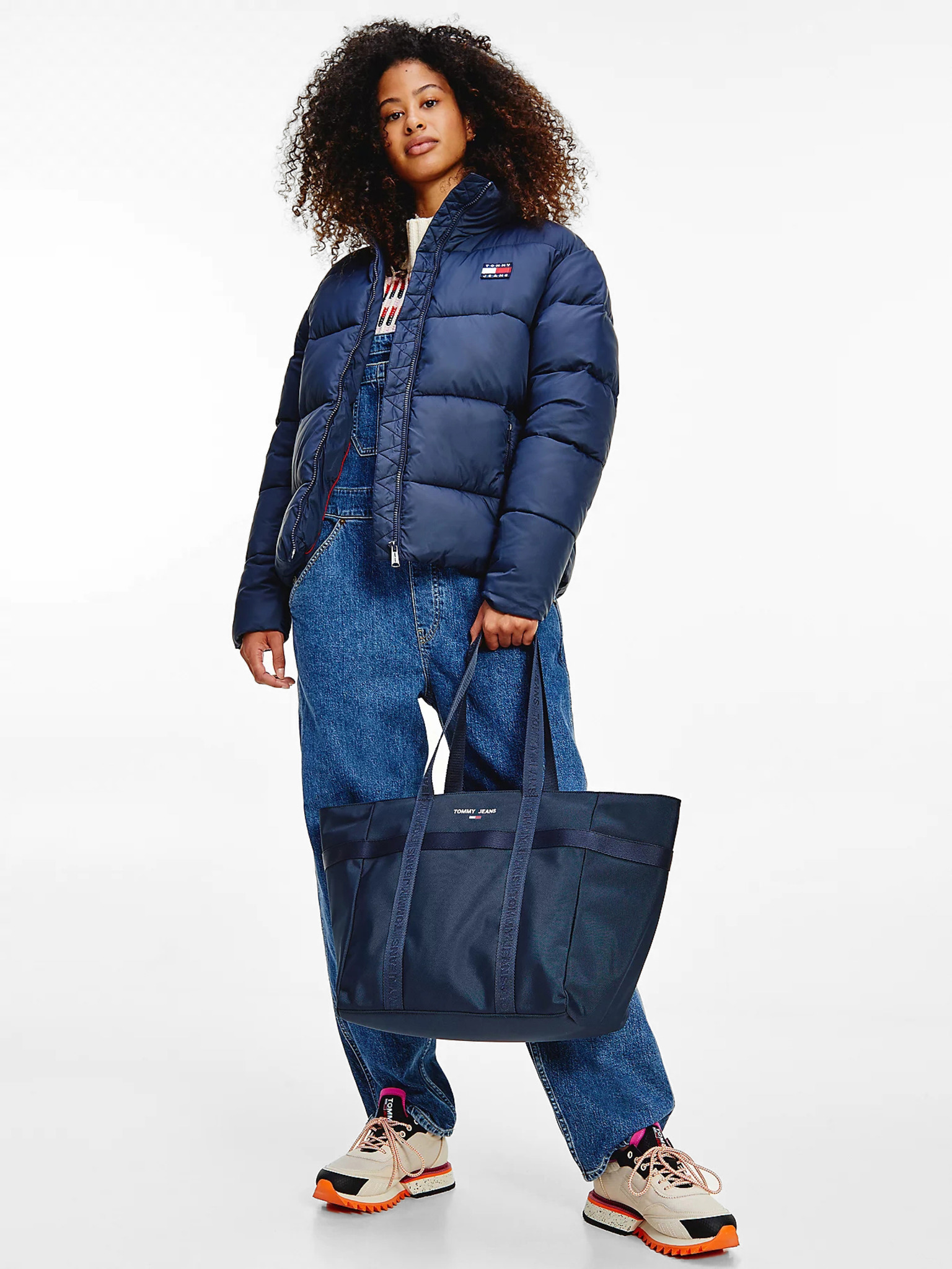 Tommy Jeans borsa essenziale blu