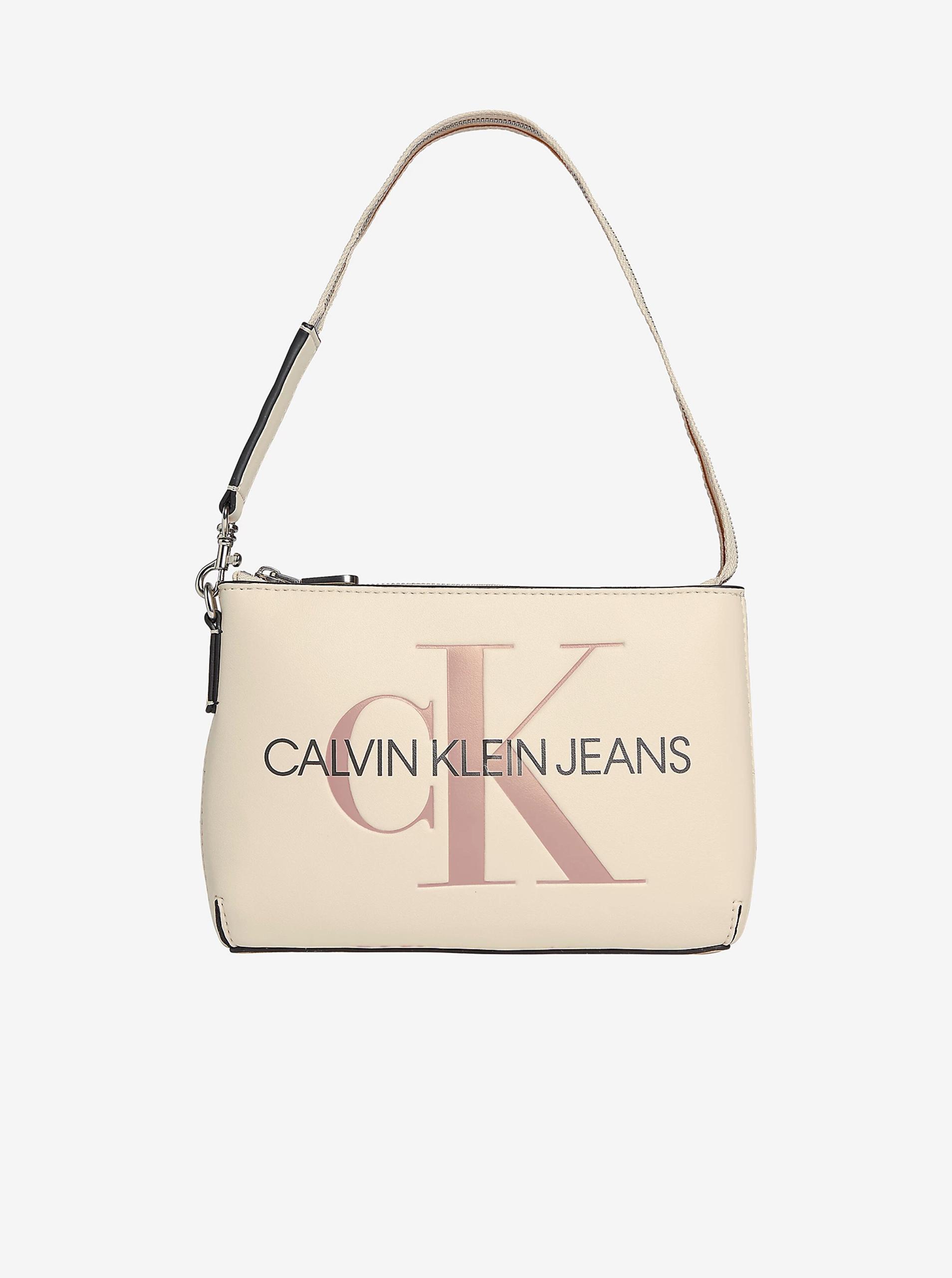 Calvin Klein crema borsetta