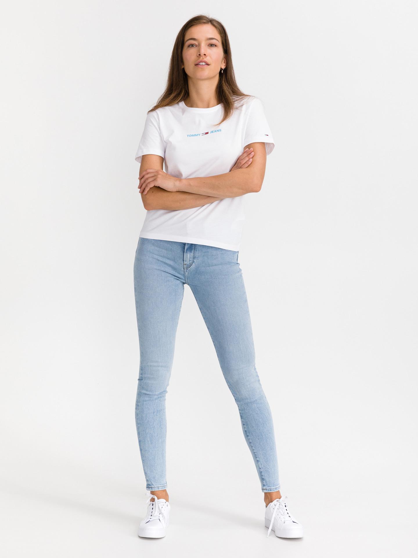 Tommy Jeans Maglietta donna bianco