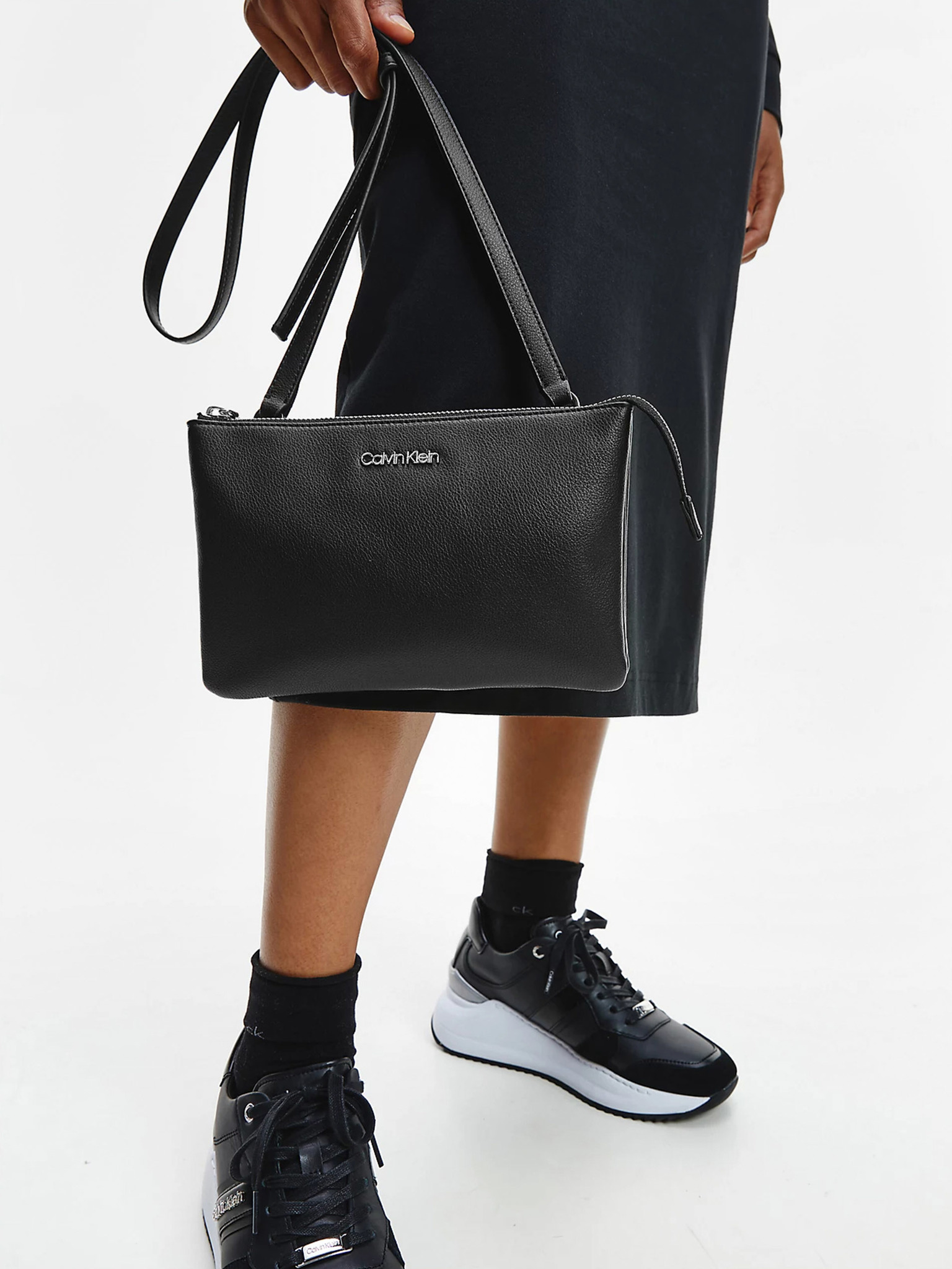 Calvin Klein nero crossbody borsa Must
