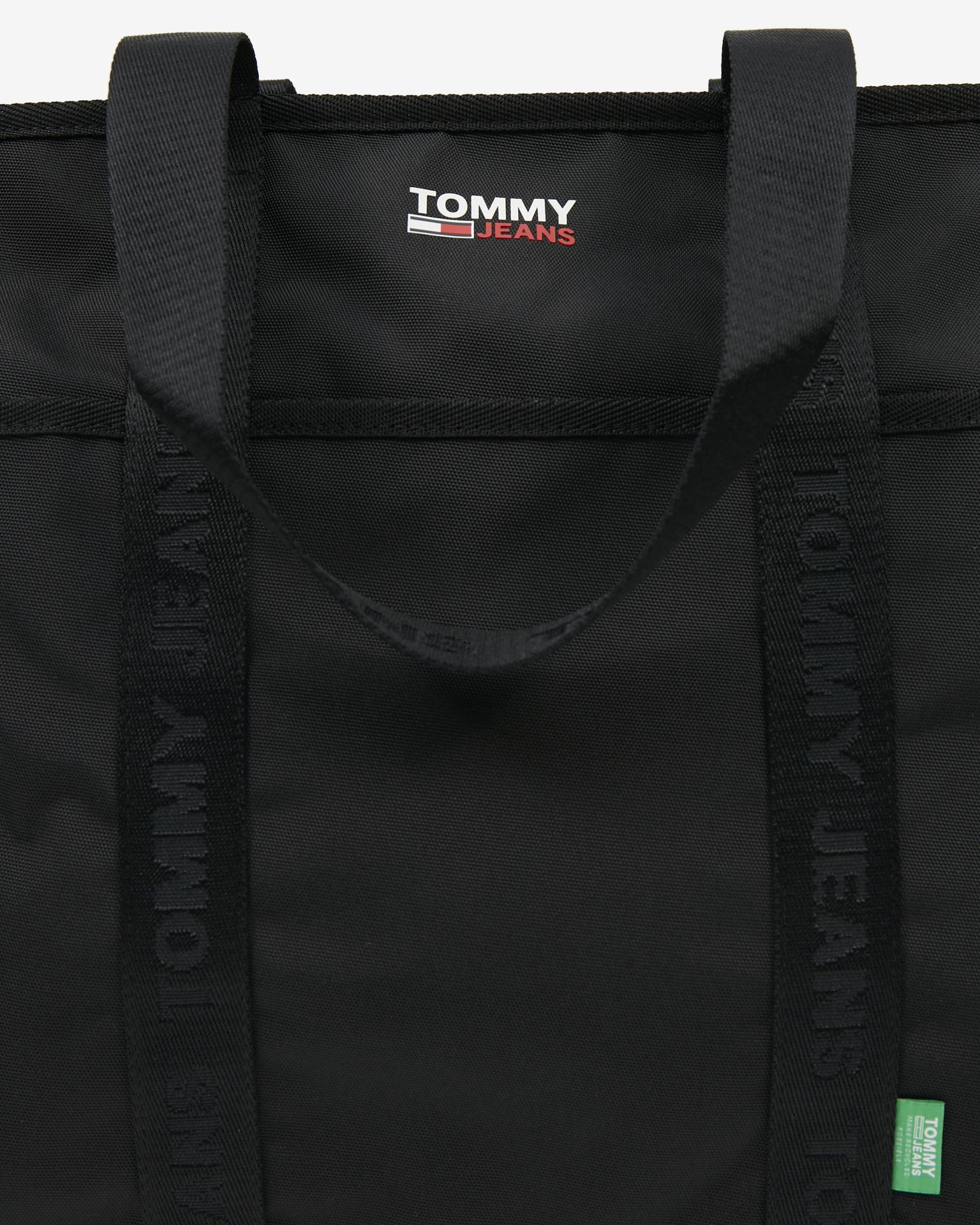 Borsa Tommy Jeans Campus nera
