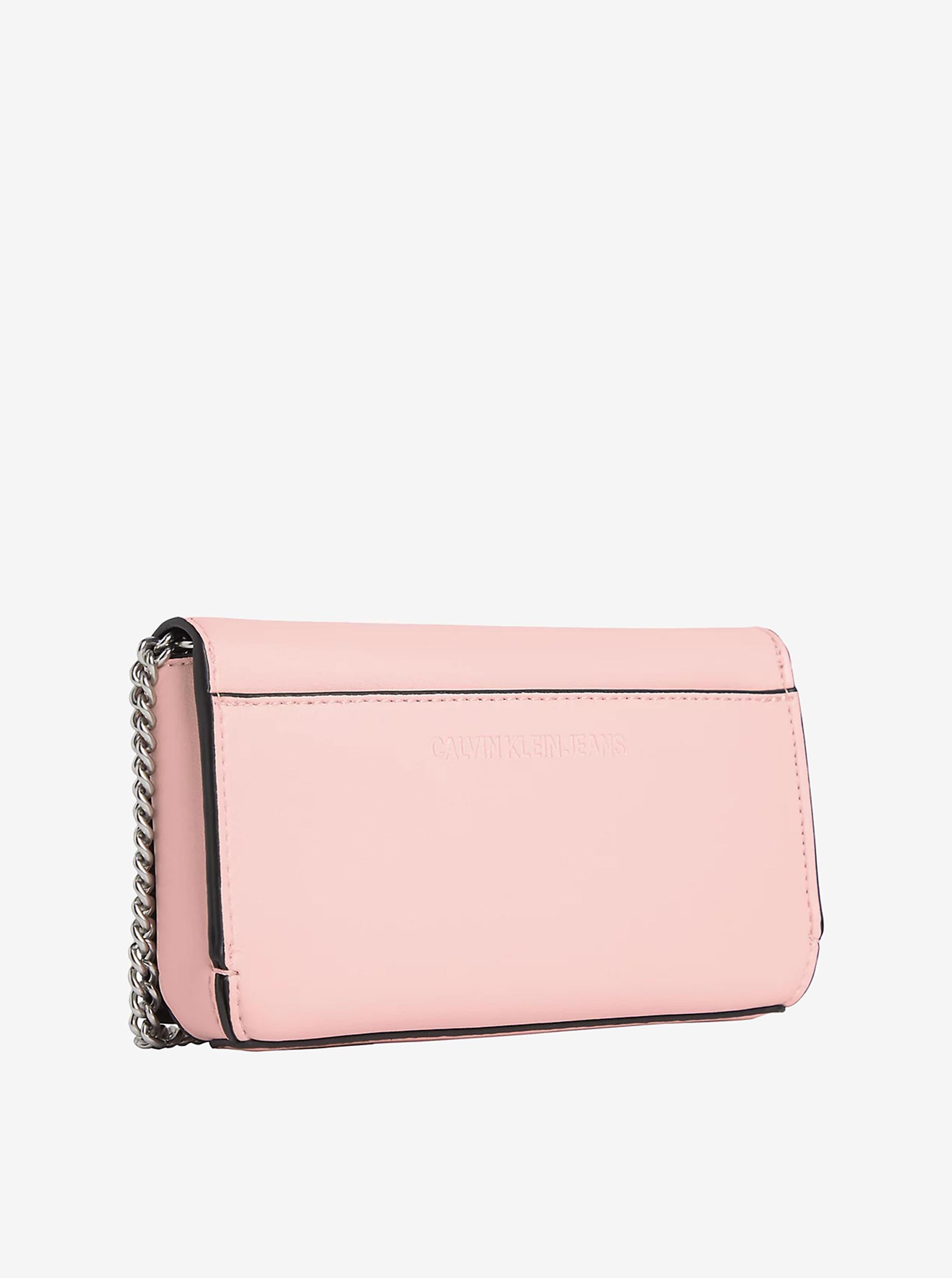Calvin Klein rosa crossbody borsetta