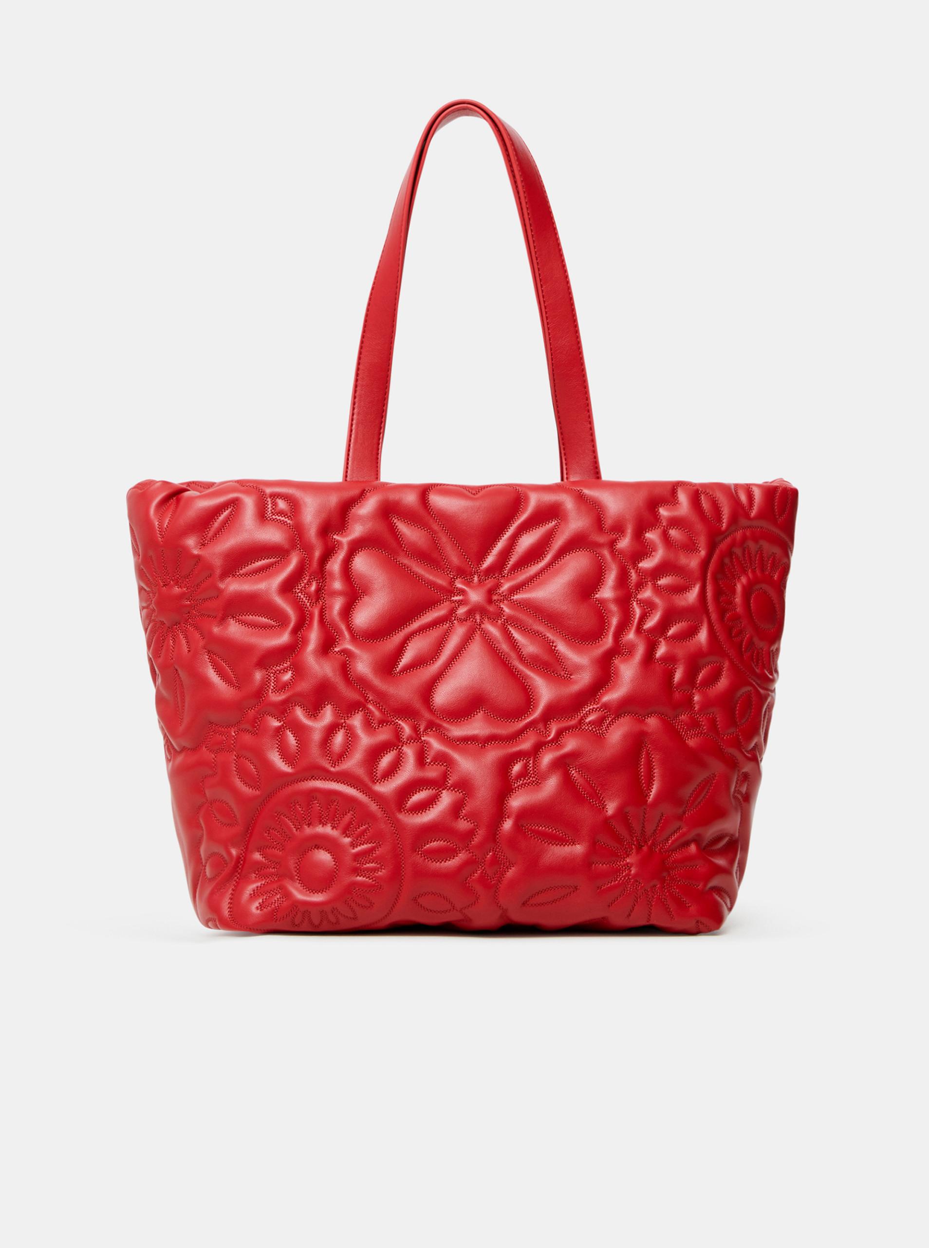 Desigual rosso borsetta Big Big Bombay