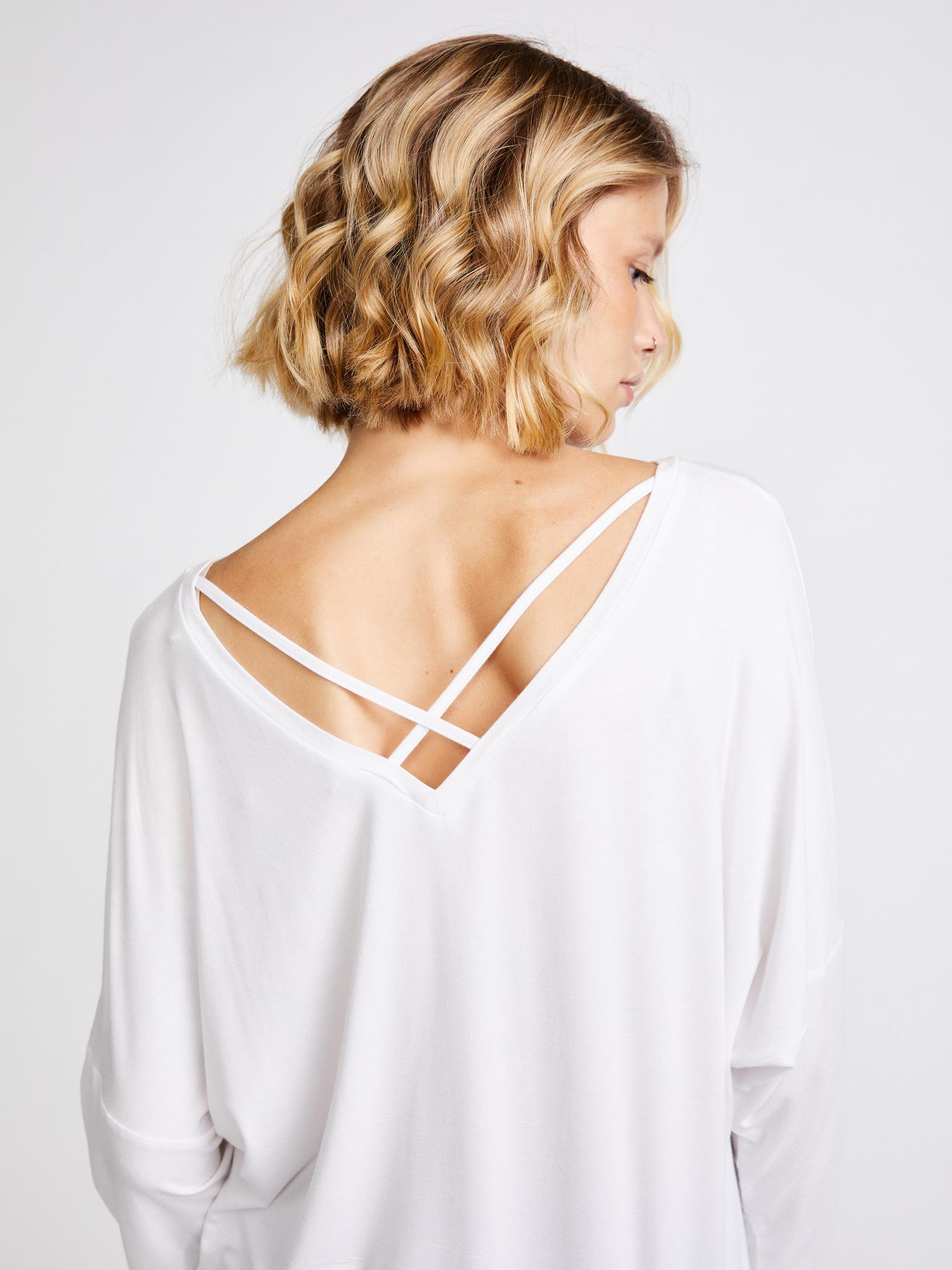 Guess Maglietta donna bianco Triko
