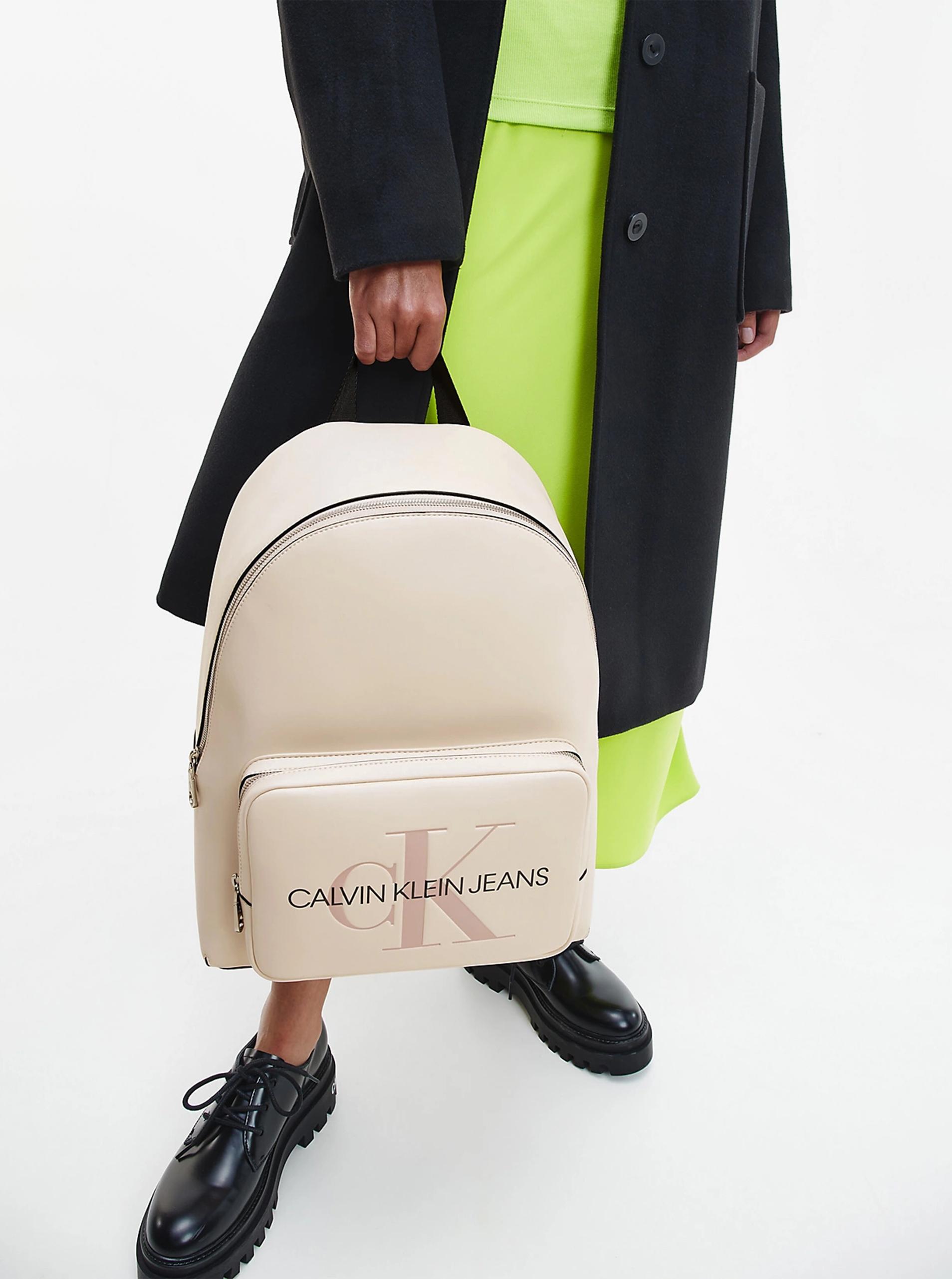 Calvin Klein crema zaino