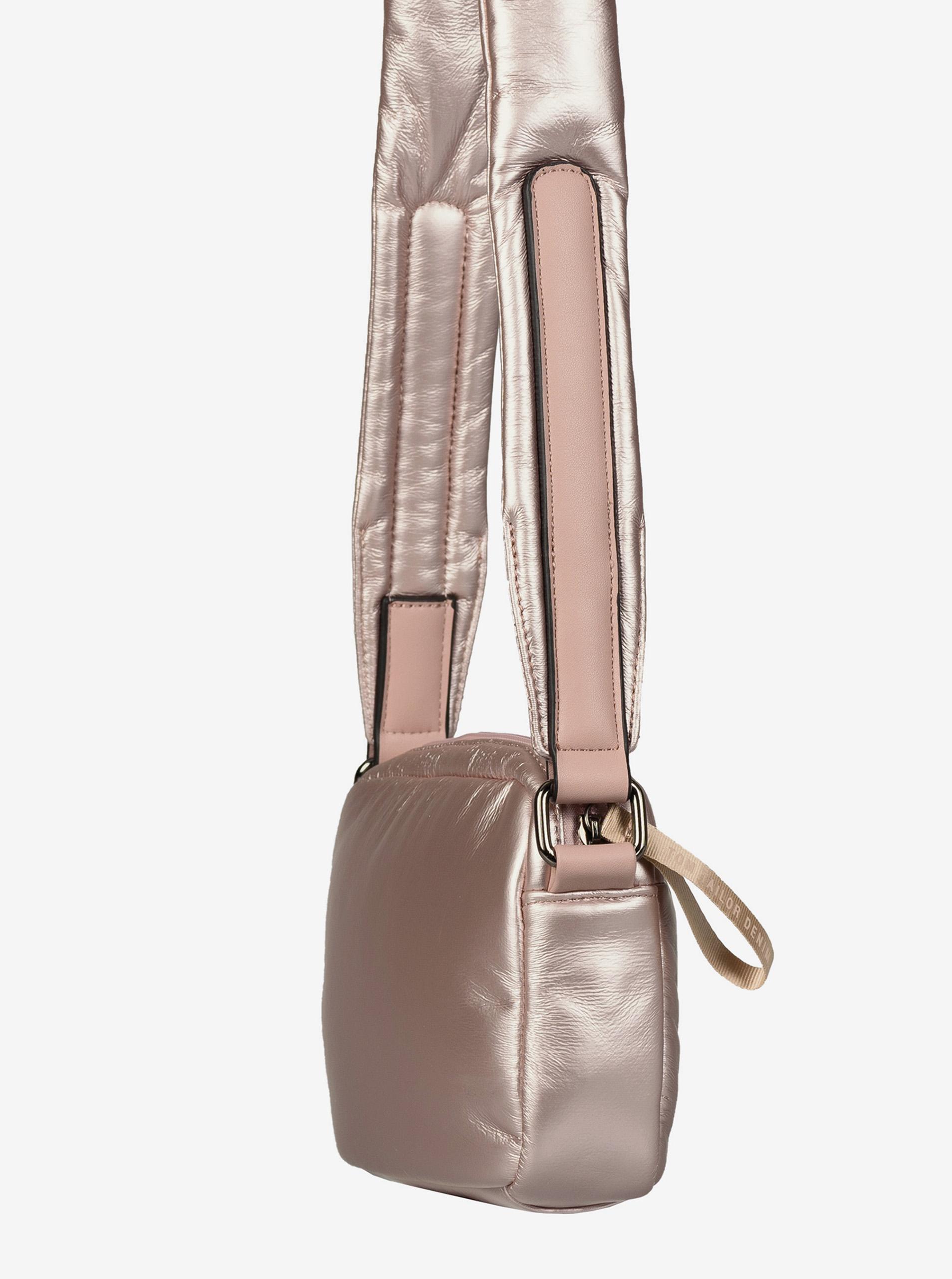 Rosa donna metallico borsa crossbody Tom Tailor Denim