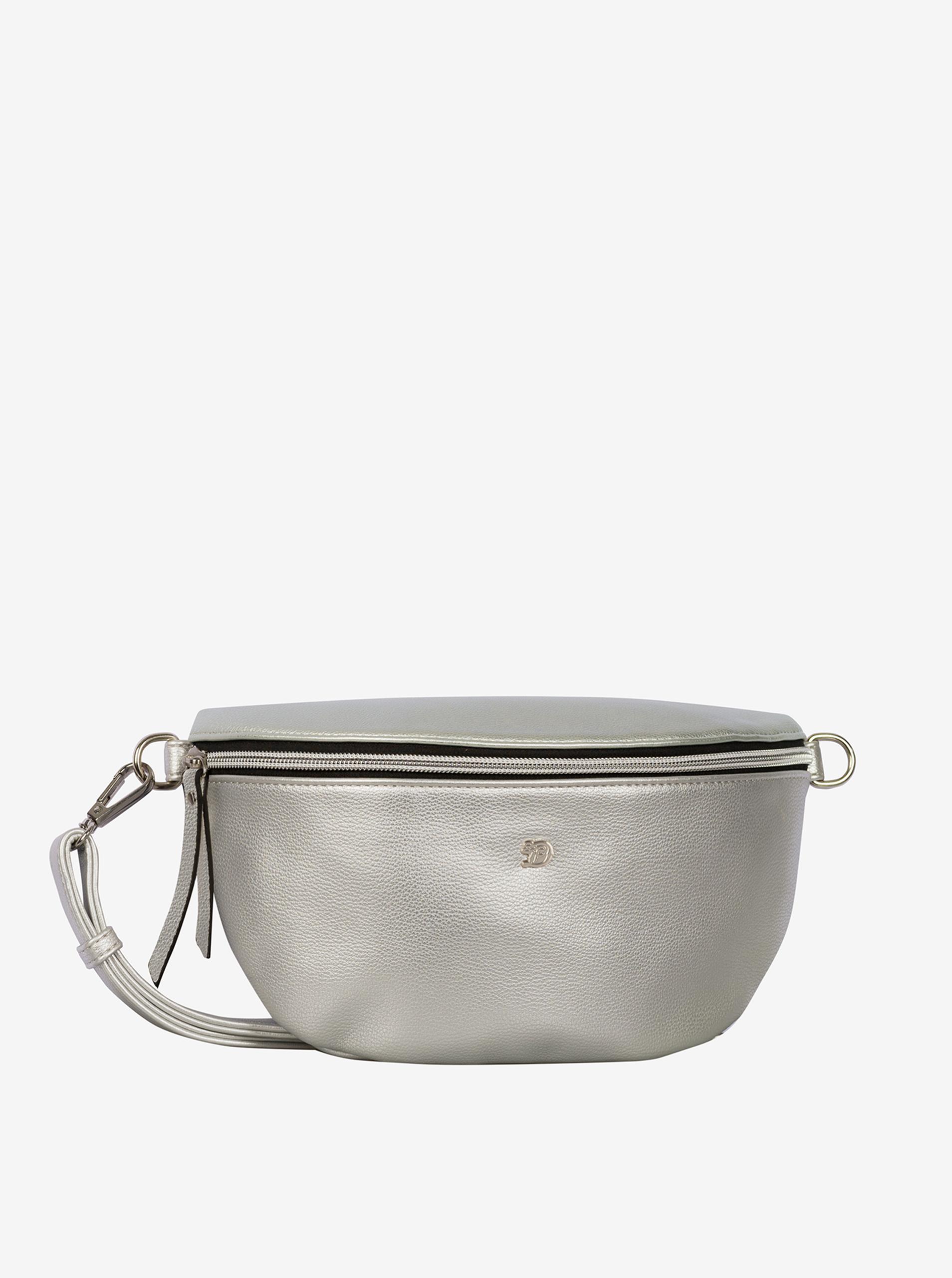 Borsa da donna con rene in argento Tom Tailor Denim