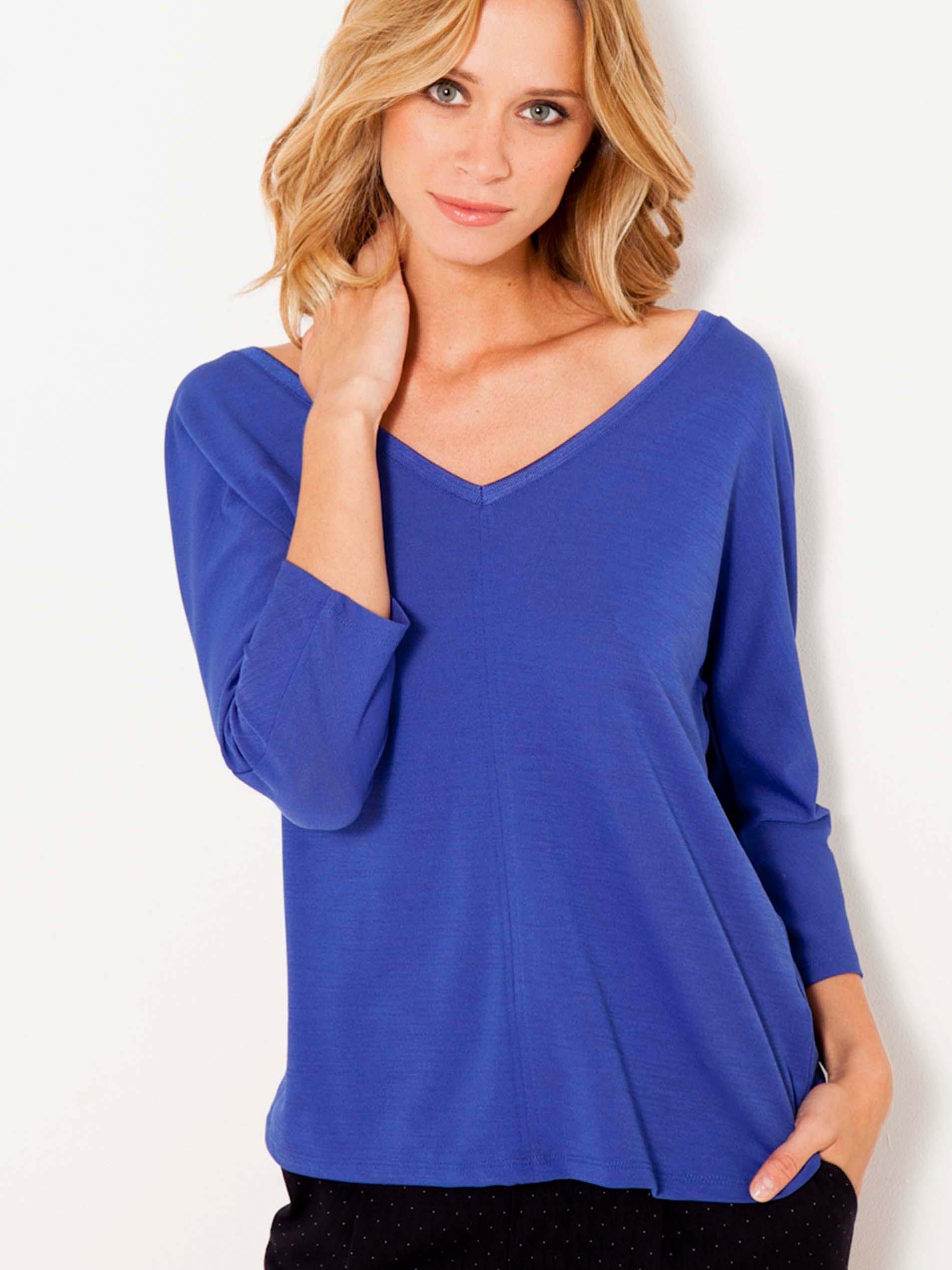 CAMAIEU Maglietta donna blu