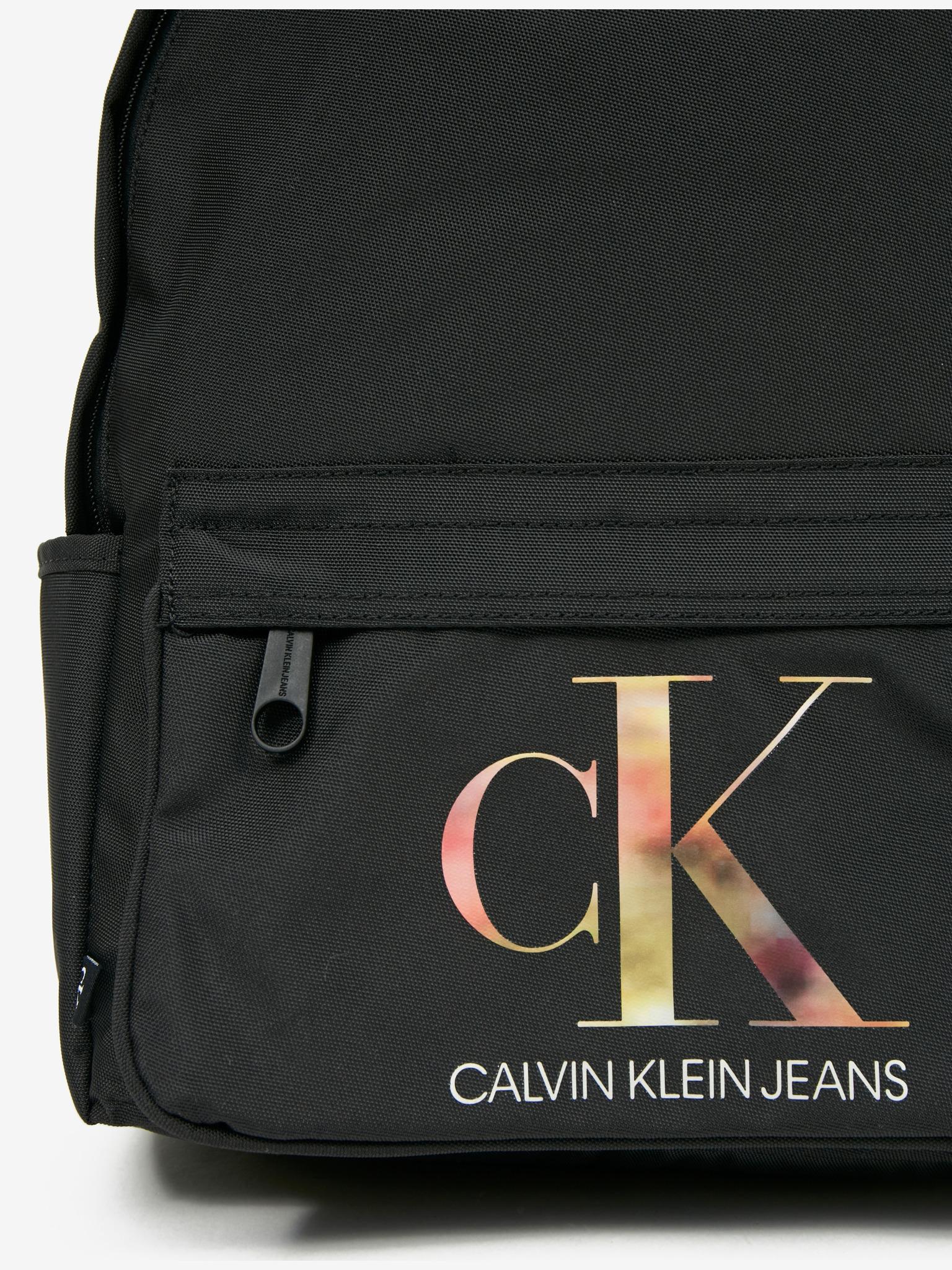 Calvin Klein nero zaino Sport Essential Campus