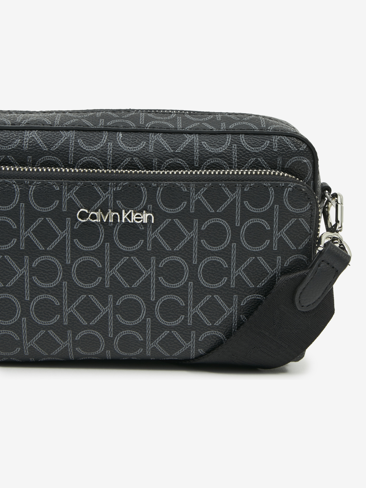 Calvin Klein nero crossbody borsetta Must Camera