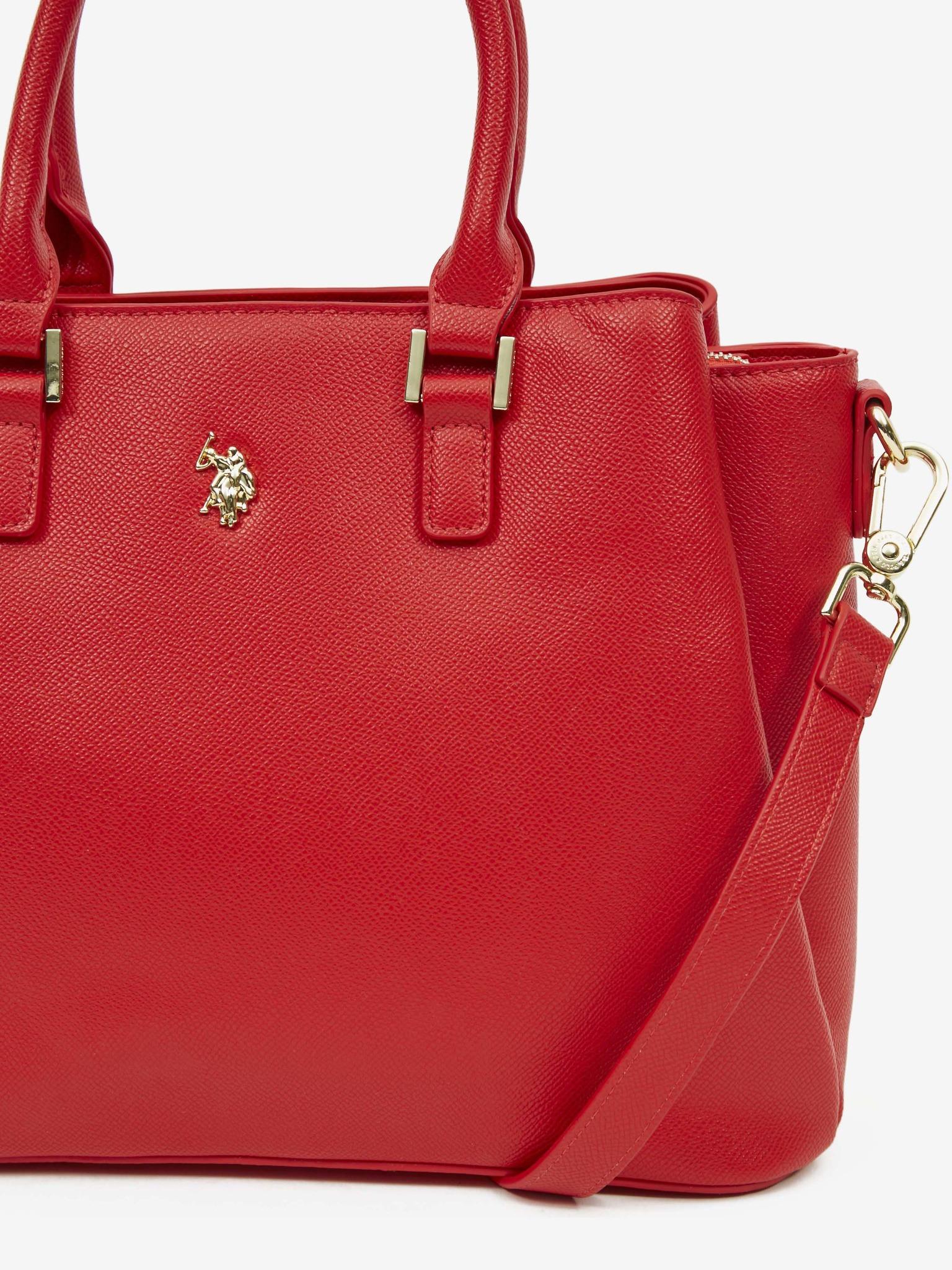 U.S. Polo Assn. Borsetta donna rosso  Kabelka