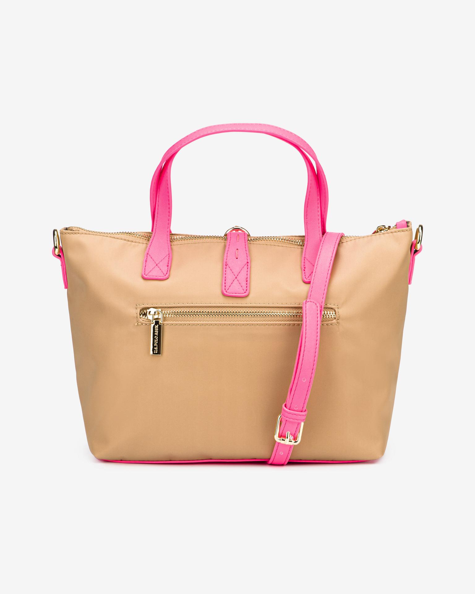 U.S. Polo Assn. Borsetta donna rosa  Fluo
