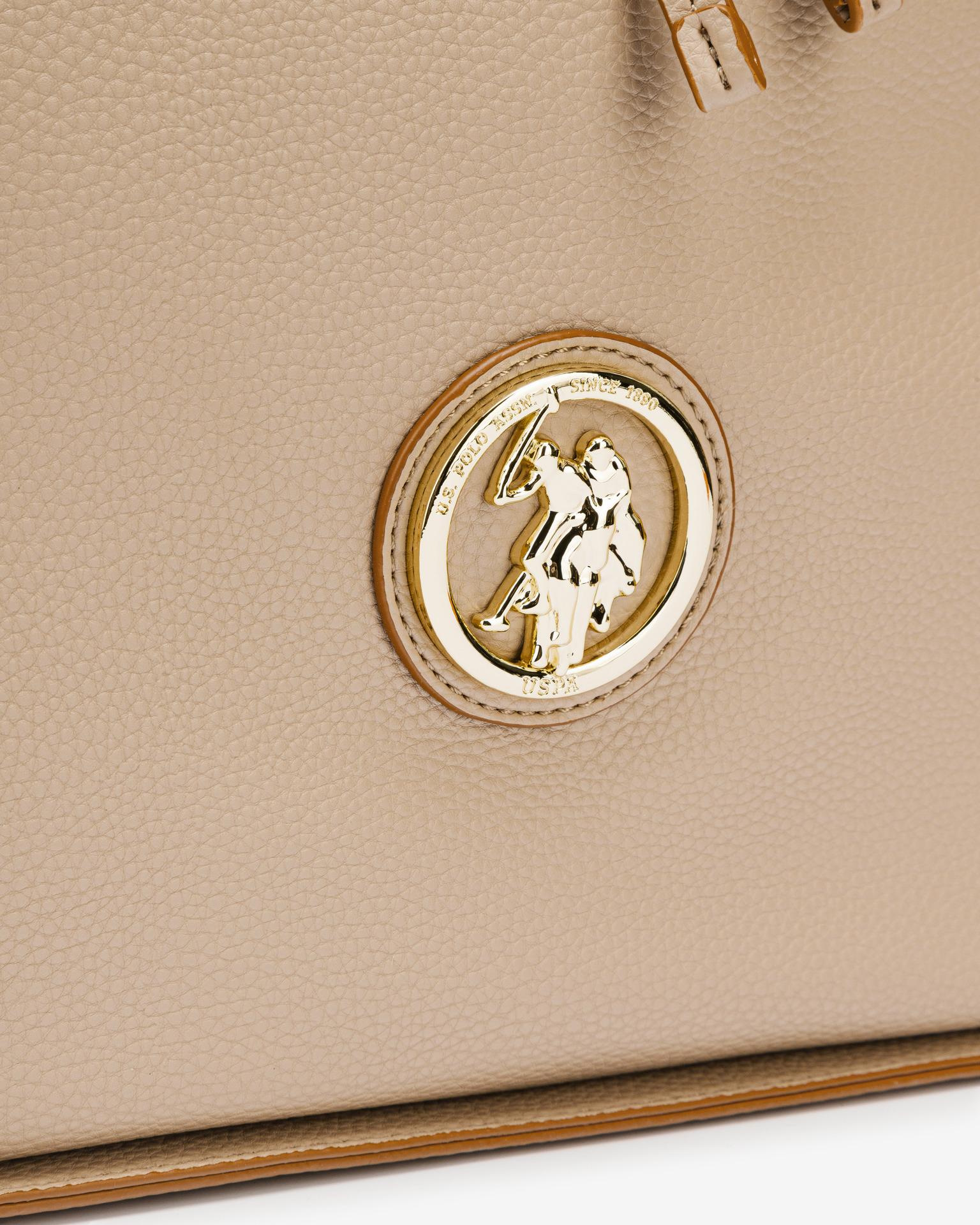 U.S. Polo Assn. Borsetta donna marrone  Hobo