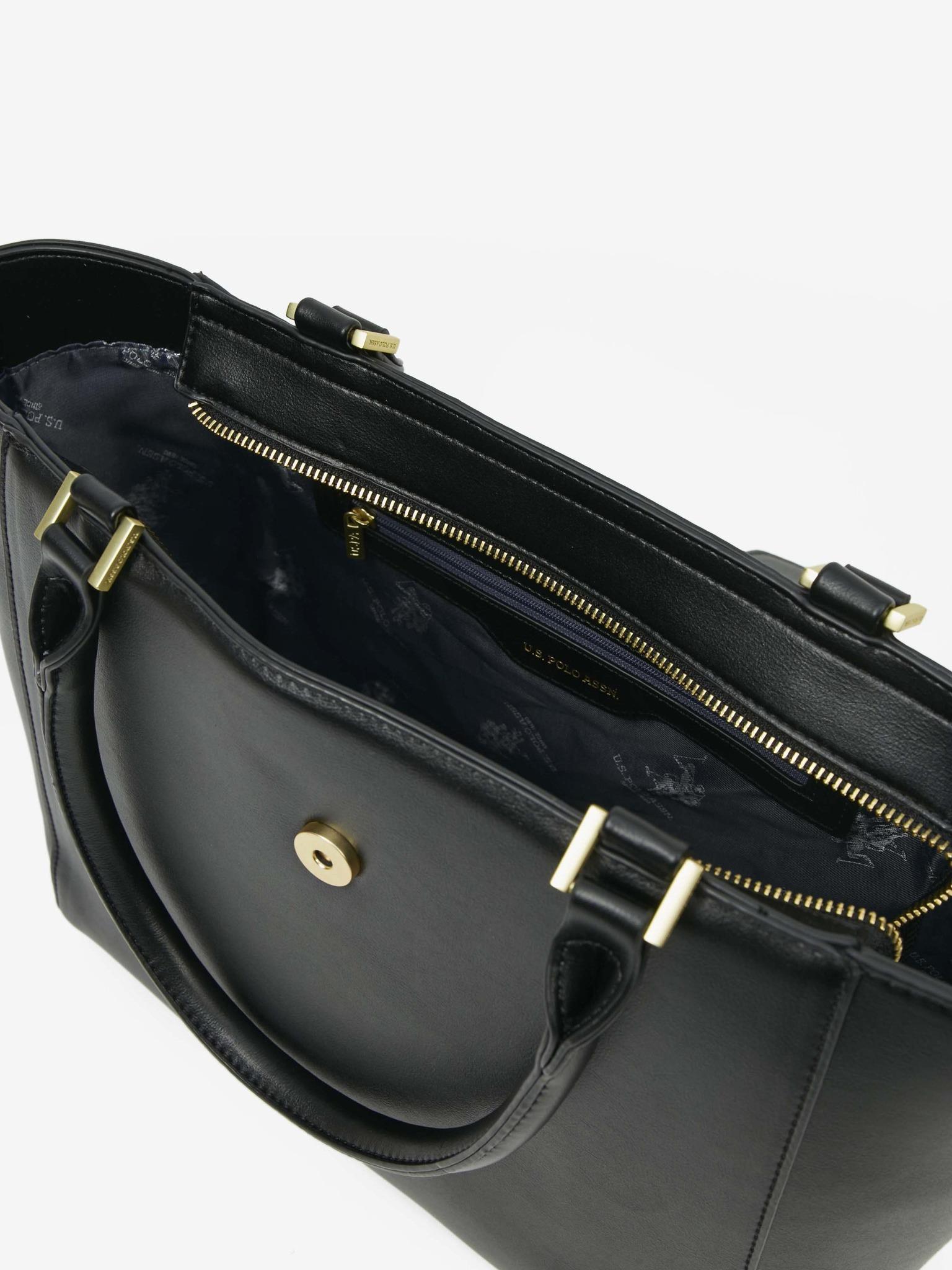 U.S. Polo Assn. Borsetta donna nero  Kabelka