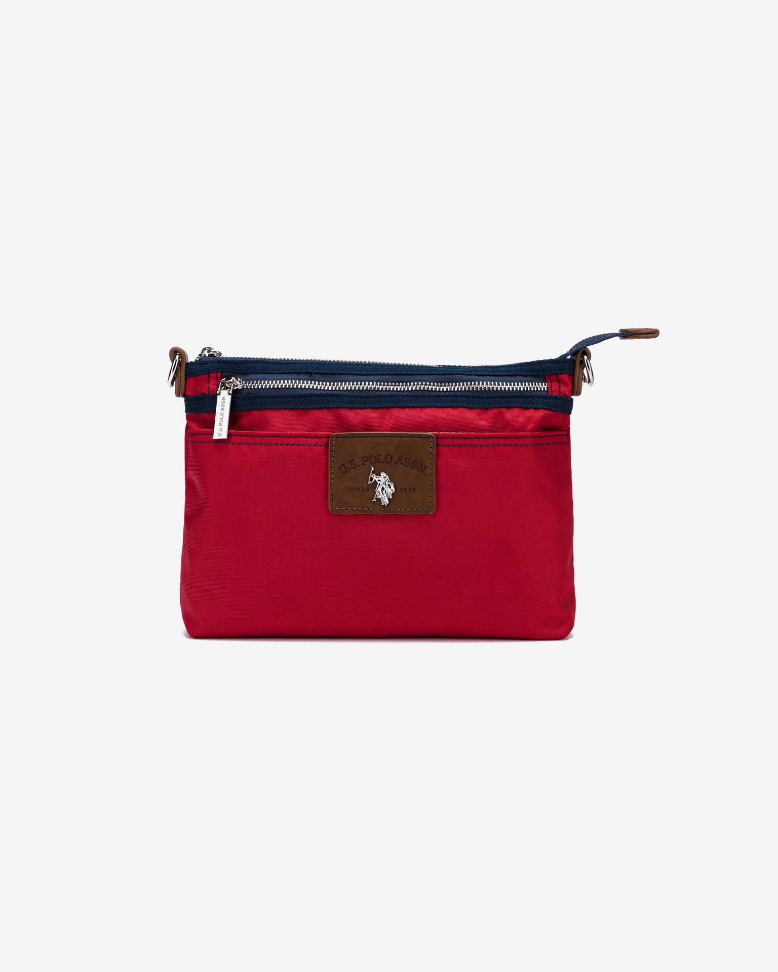 U.S. Polo Assn. Borsetta donna rosso  U.S.