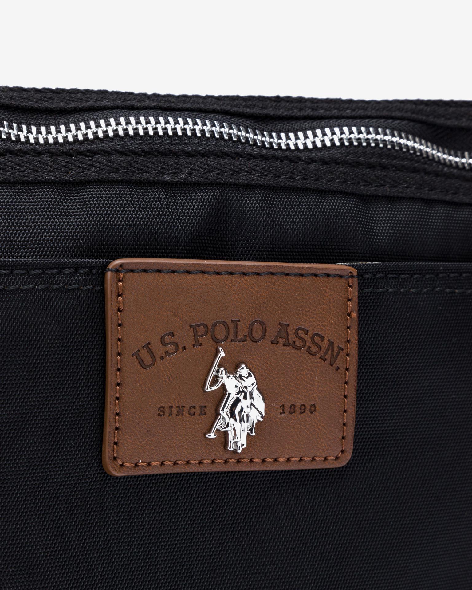U.S. Polo Assn. Borsetta donna nero  U.S.