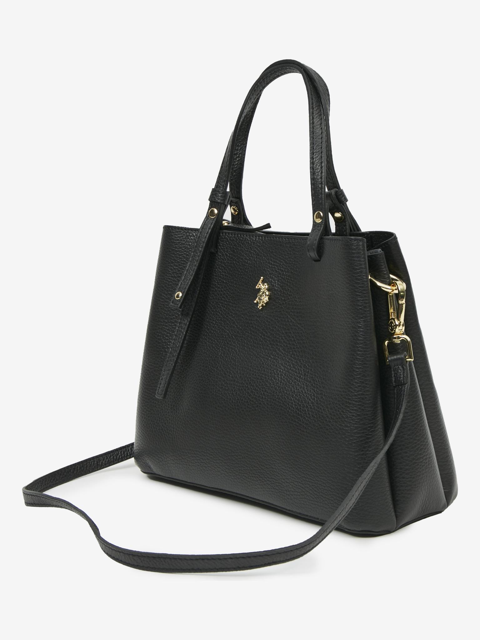 U.S. Polo Assn. Borsetta donna nero  Small